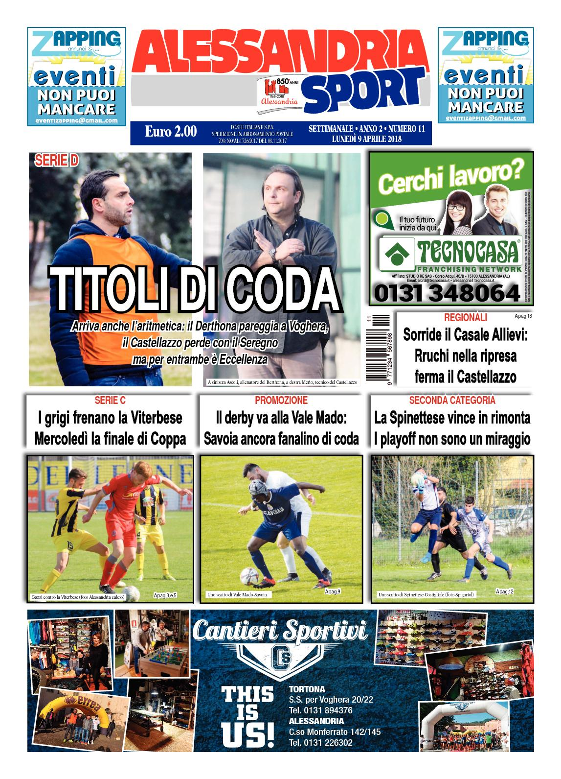 ea209fdb5ac626 Calaméo - 2018 Alessandria Sport 11