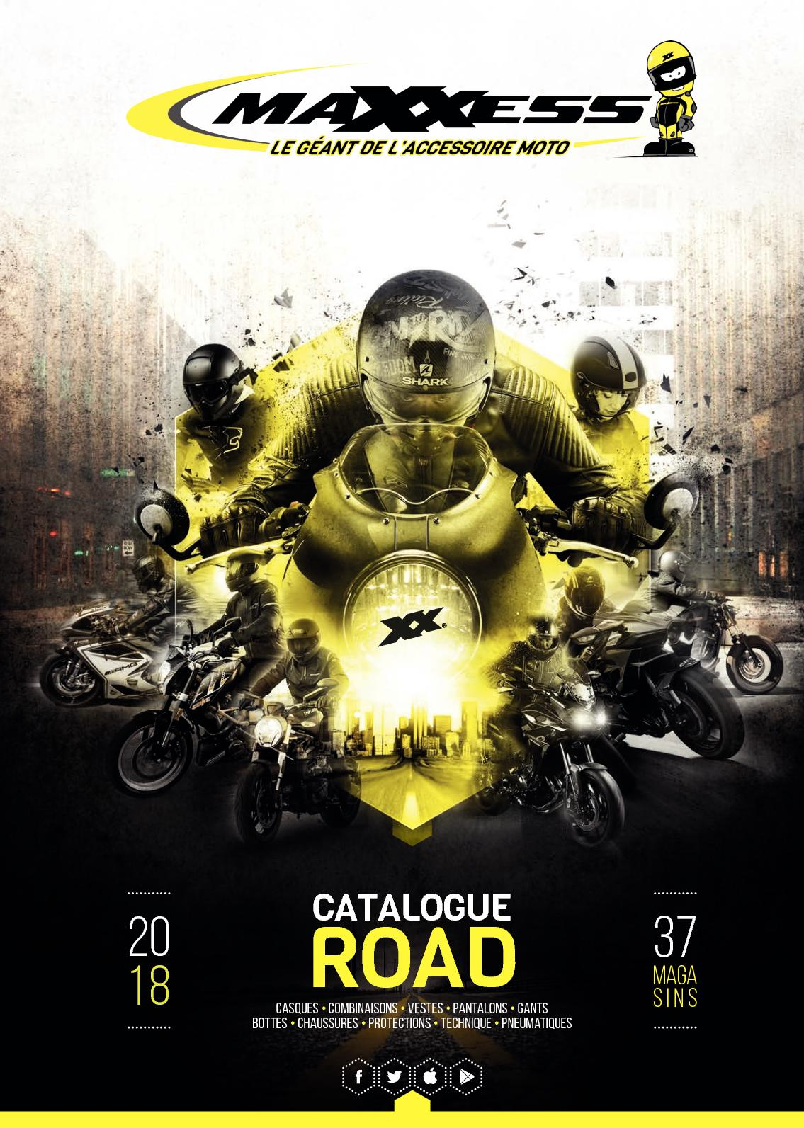 Calaméo Catalogue Road MAXXESS 2018