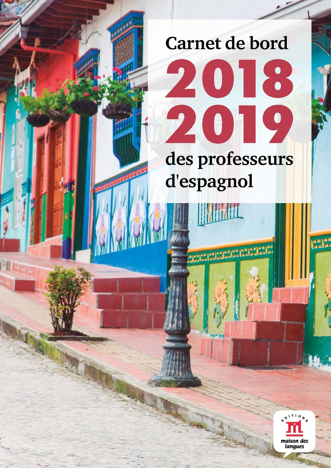 Calaméo Carnet De Bord 2018 2019 Espagnol