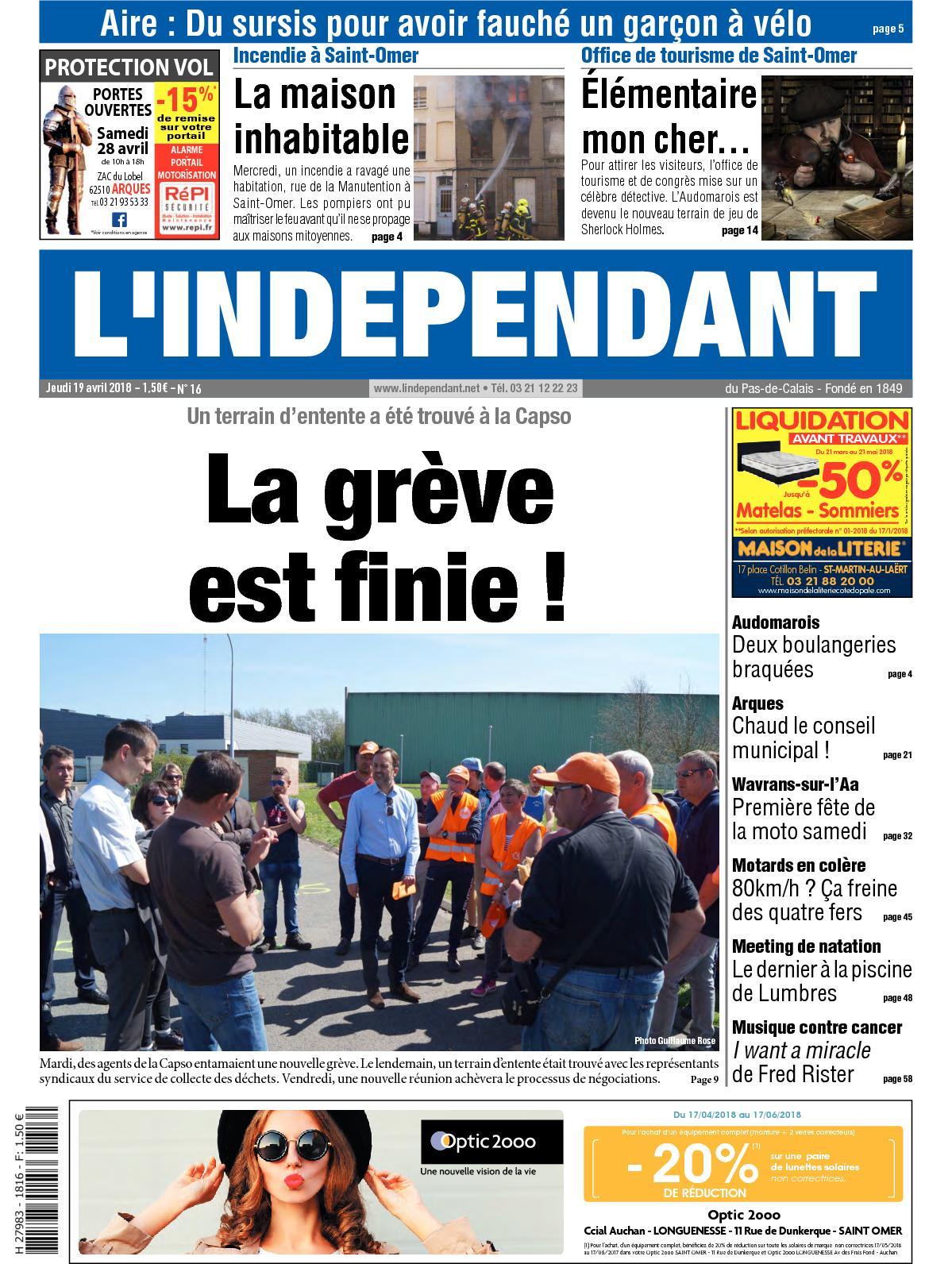 Calaméo - L indépendant Semaine 16 2018 9e8a353a773a