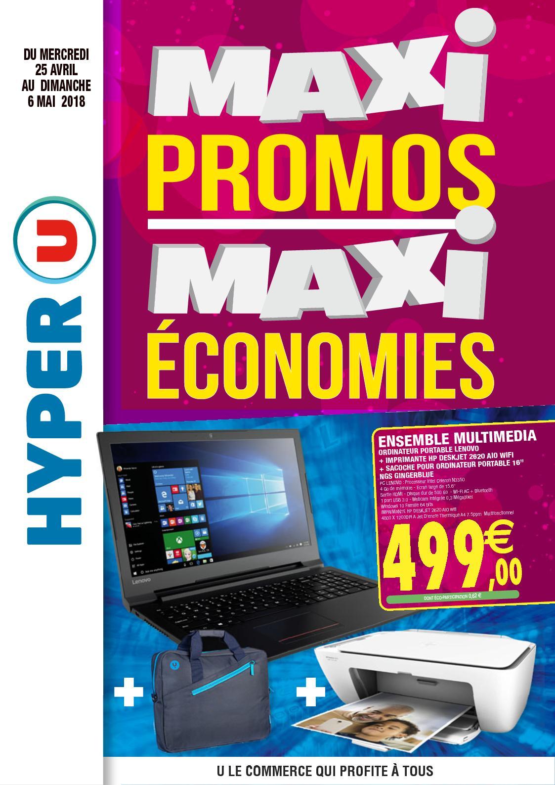 6e36a13af5 Calaméo - Catalogue HYPER U Maxi Promo Maxi Economies du 25/04 au 06/05