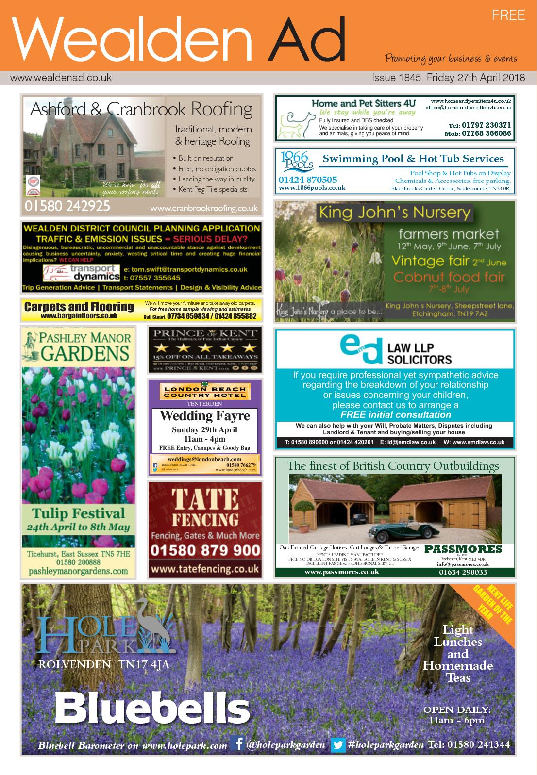 Calaméo - Wealden Ad 27/4/2018