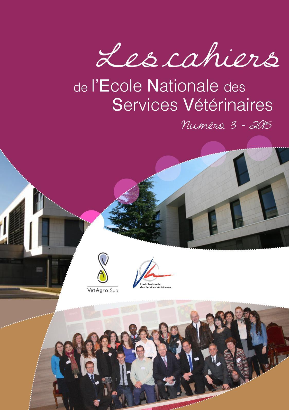 Calaméo Les Cahiers de l' ENSV 2015