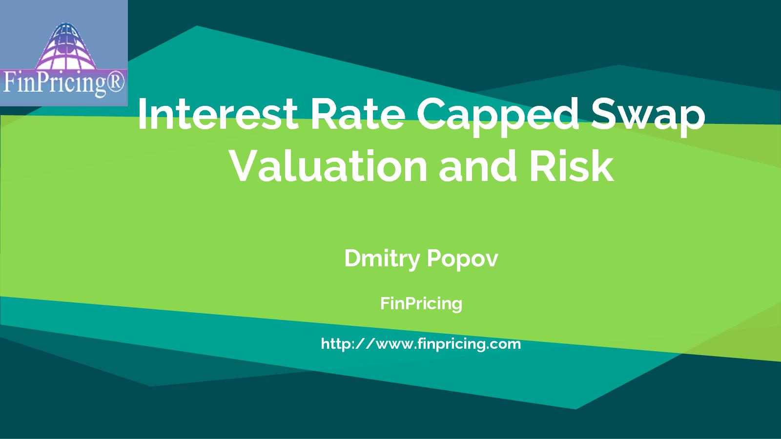 Calaméo - Interest Rate Capped Swap Definition and Valuation 49ded7f3d47