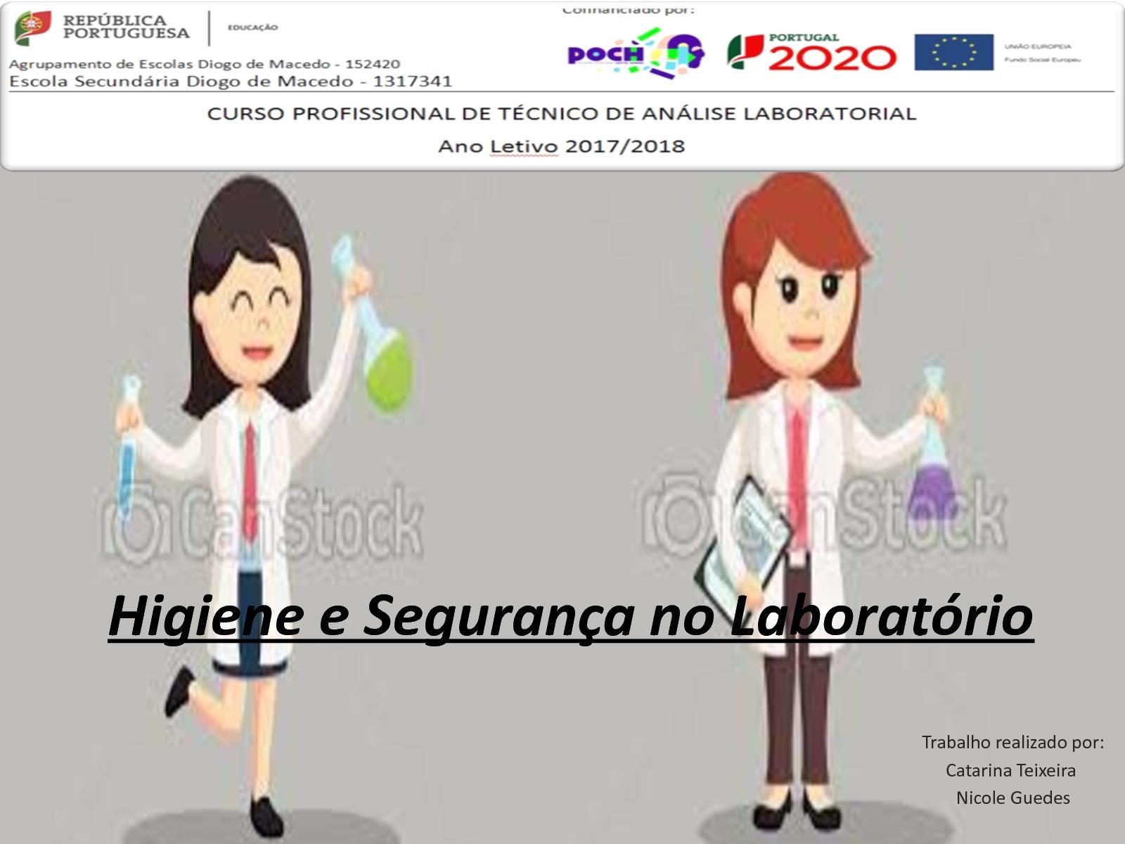 Higiene E Segurança No Laboratório