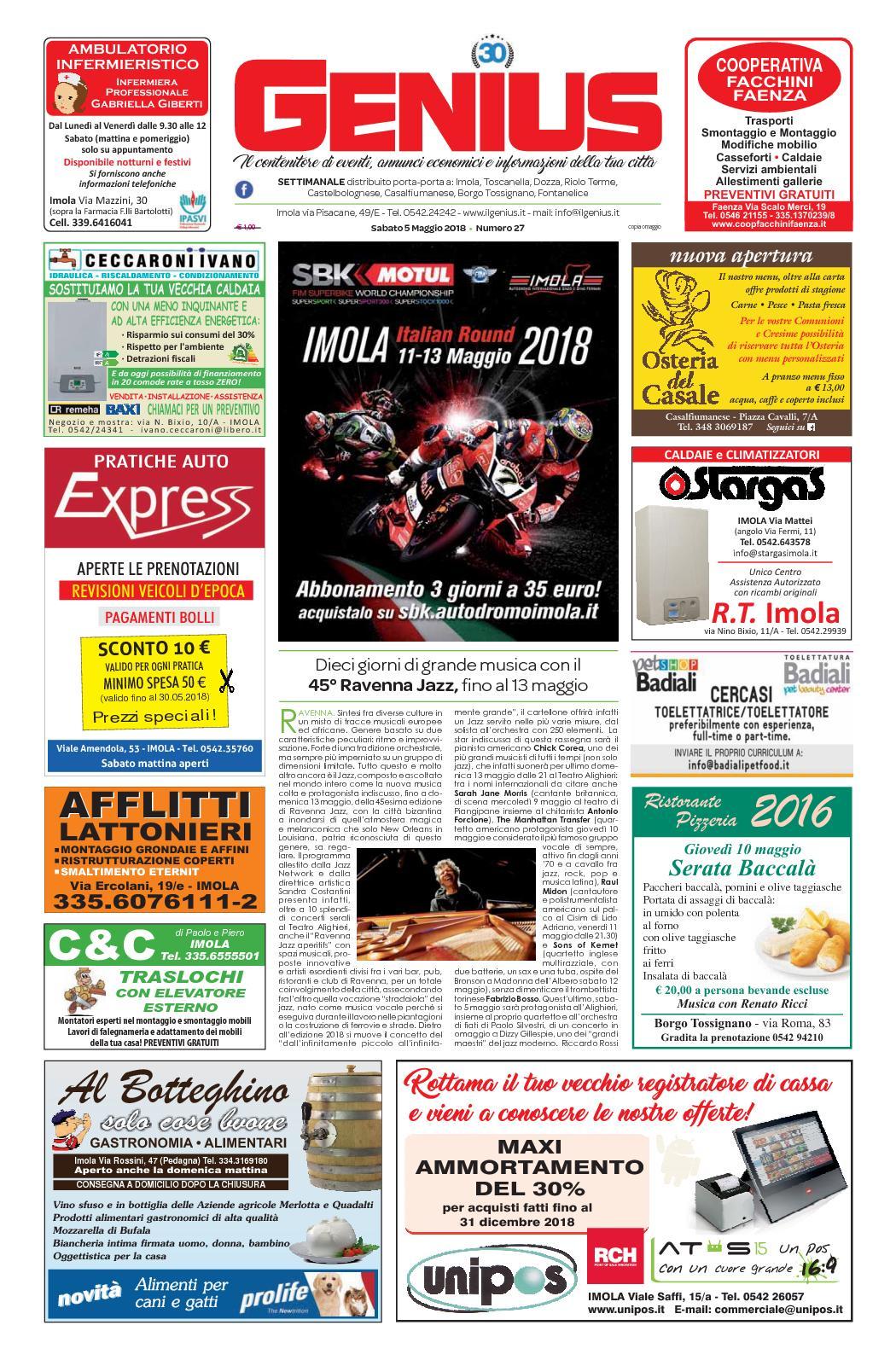 Detrazione Tinteggiatura Interna 2016 calaméo - num 27 del 5 maggio 2018