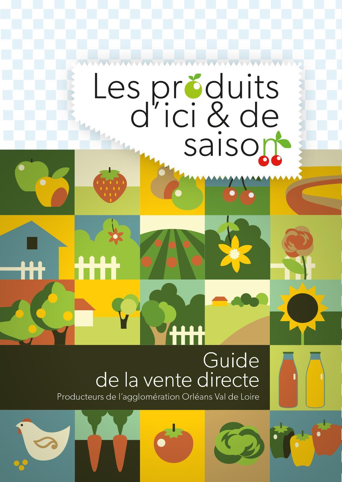 1387b2ae6a9 Calaméo - Guide De La Vente Directe Producteurs De L Agglomération Orléans  Val De Loire