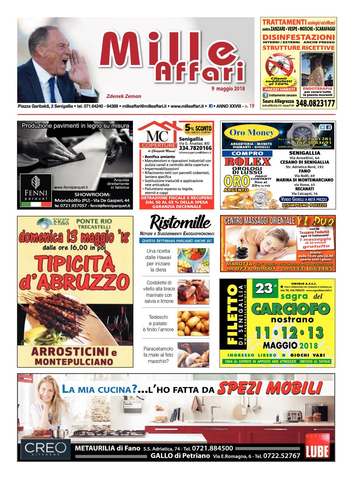 competitive price b368b 24643 Calaméo - Milleaffari N° 19 del 09.05.18