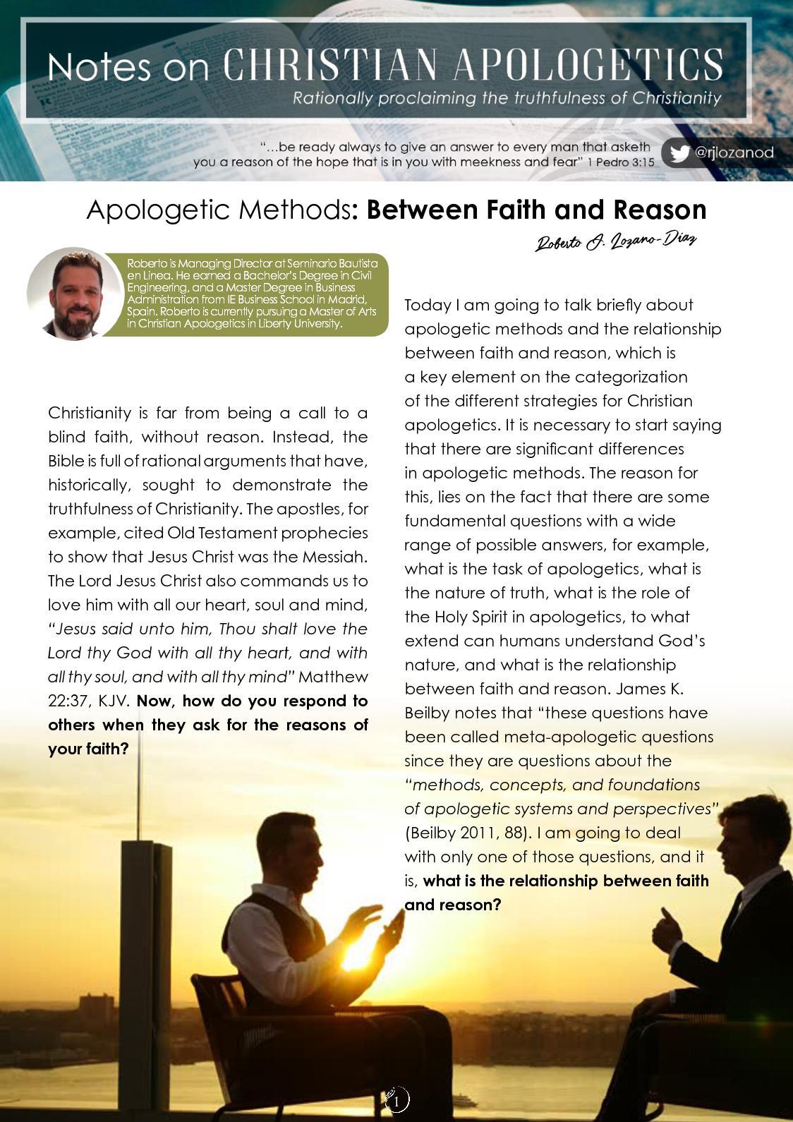 Calaméo - Between Faith And Reason