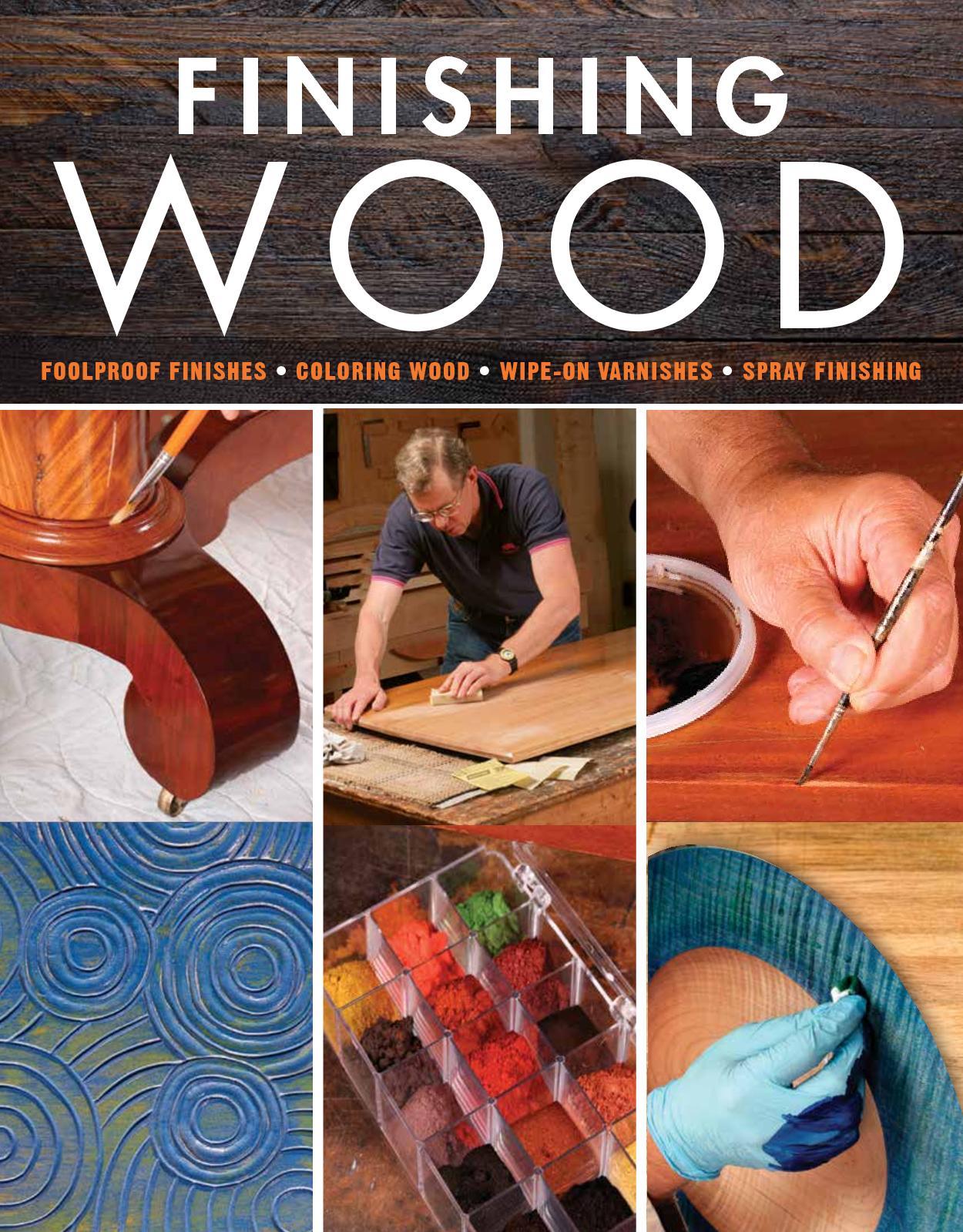 Calaméo - Finishing Wood