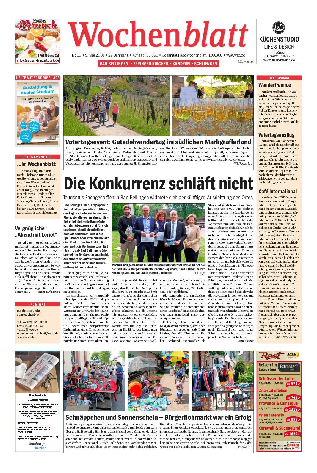 Calameo Wochenblatt Markgraeflerland