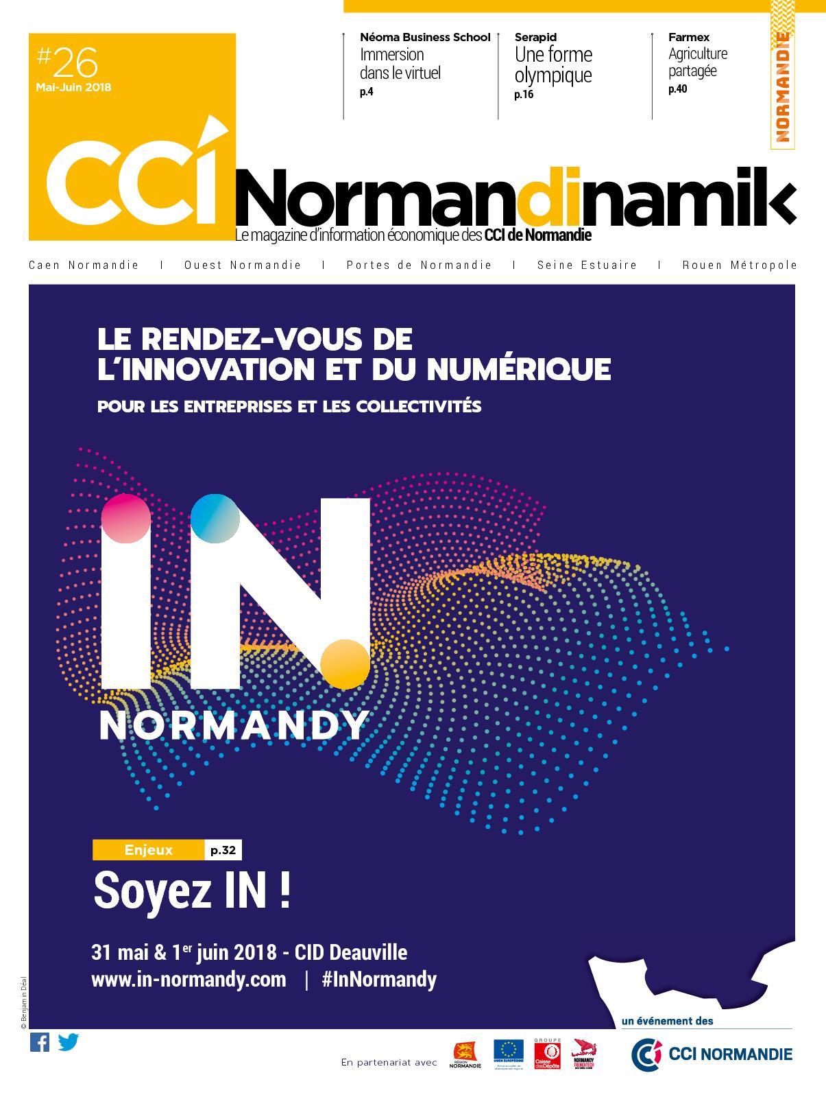 c7e7c8e41a71 Calaméo - Normandinamik  26 Mai-Juin 2018