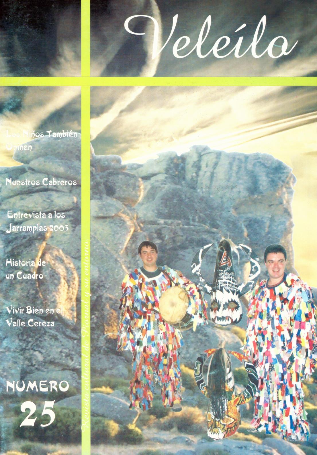 ed0705aaff375 Calaméo - Veleílo - Revista cultural de Piornal y su entorno nº 25 2003