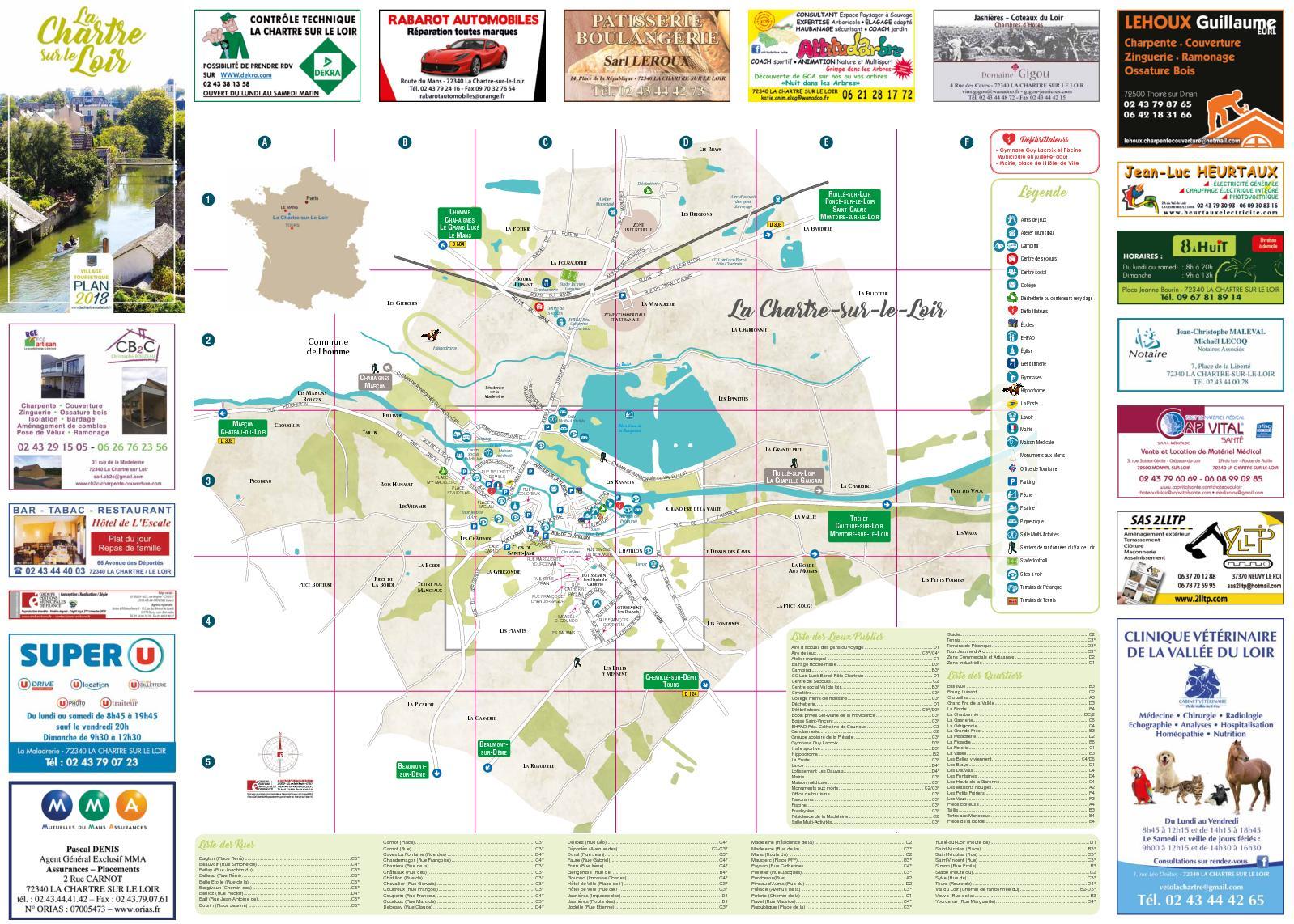 Poncé Sur Loir Poterie calaméo - plan de ville la chartre sur le loir