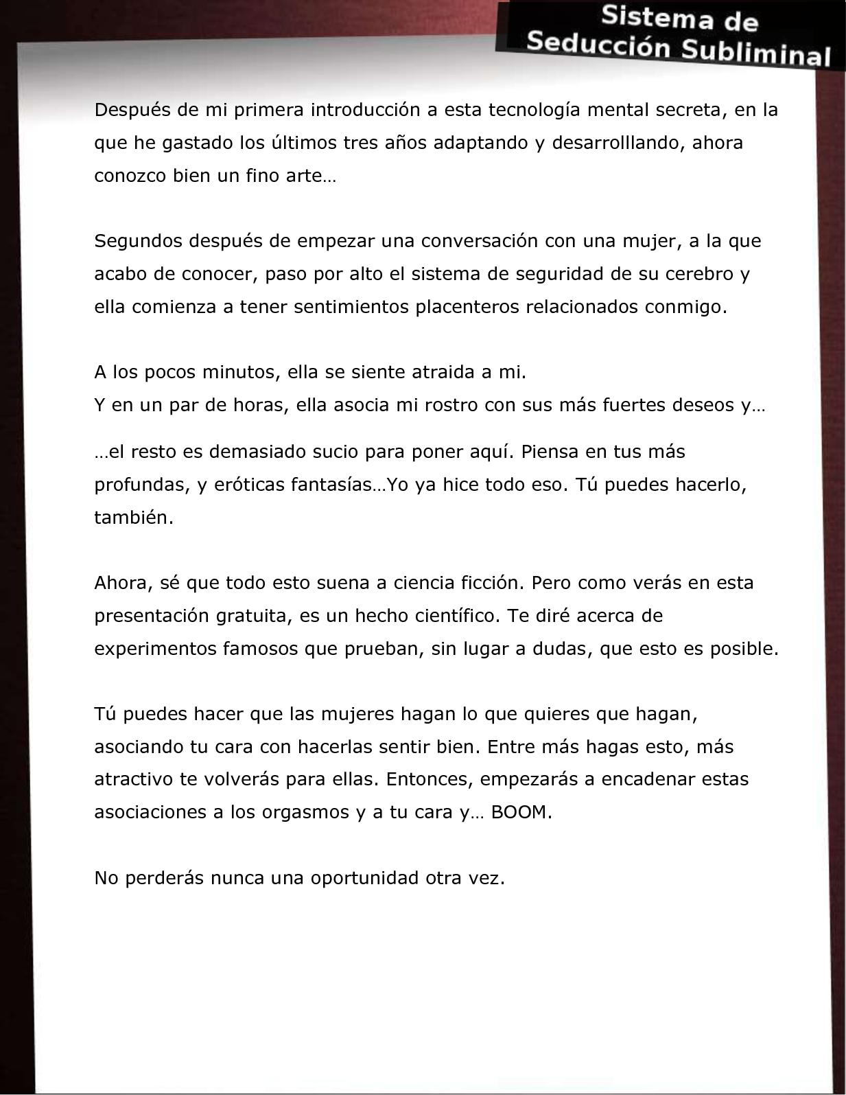 Sistema De Seduccion Subliminal.pdf - 2shared