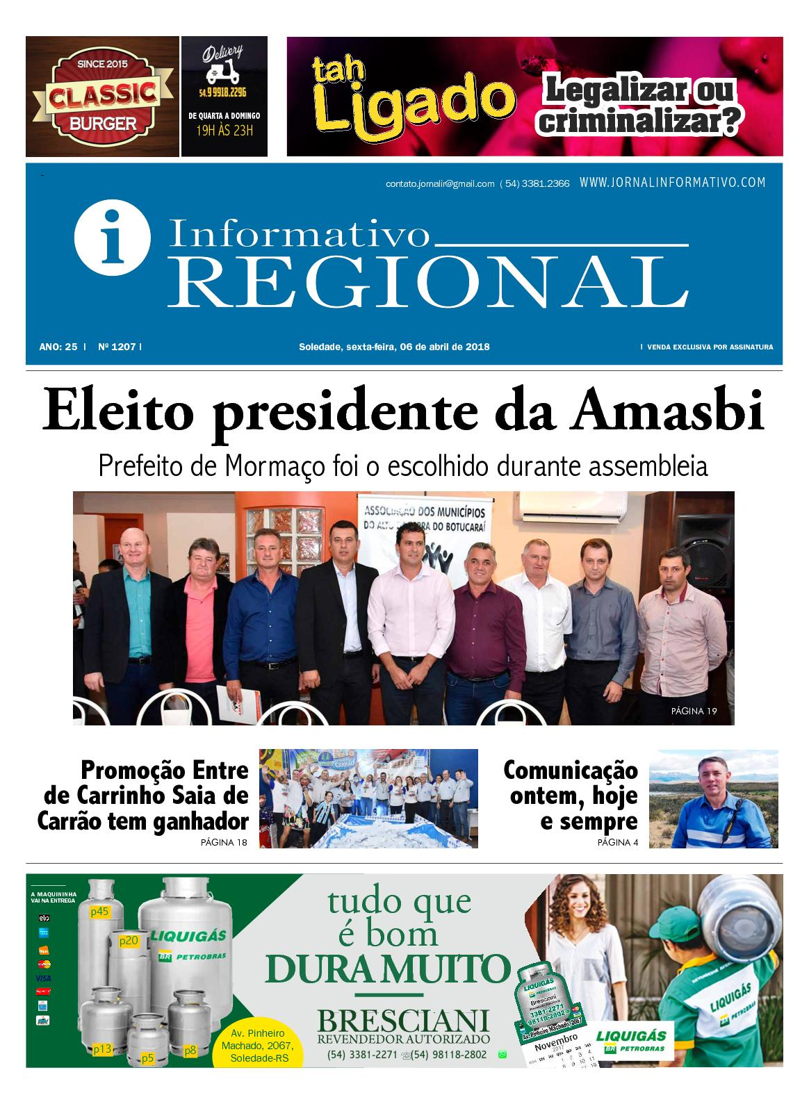 3b219b00f Calaméo - Informativo Regional 1207
