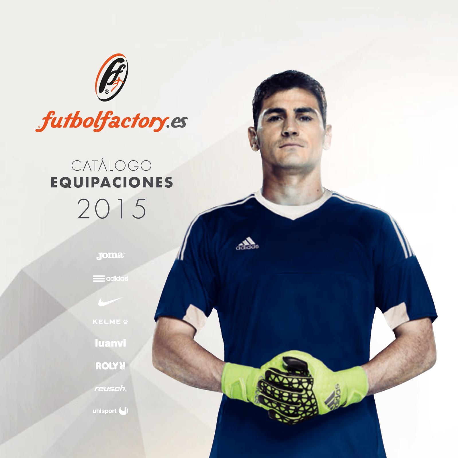 6d800c1f1b41f Calaméo - Catalogo Equipaciones 2015 Futbol Factory