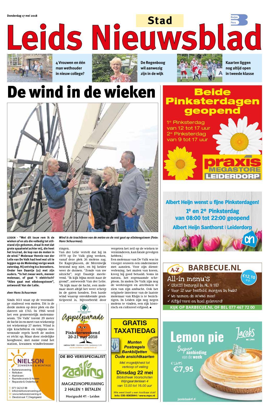 66eda352603 Calaméo - Leids Nieuwsblad Stad 17-05-2018
