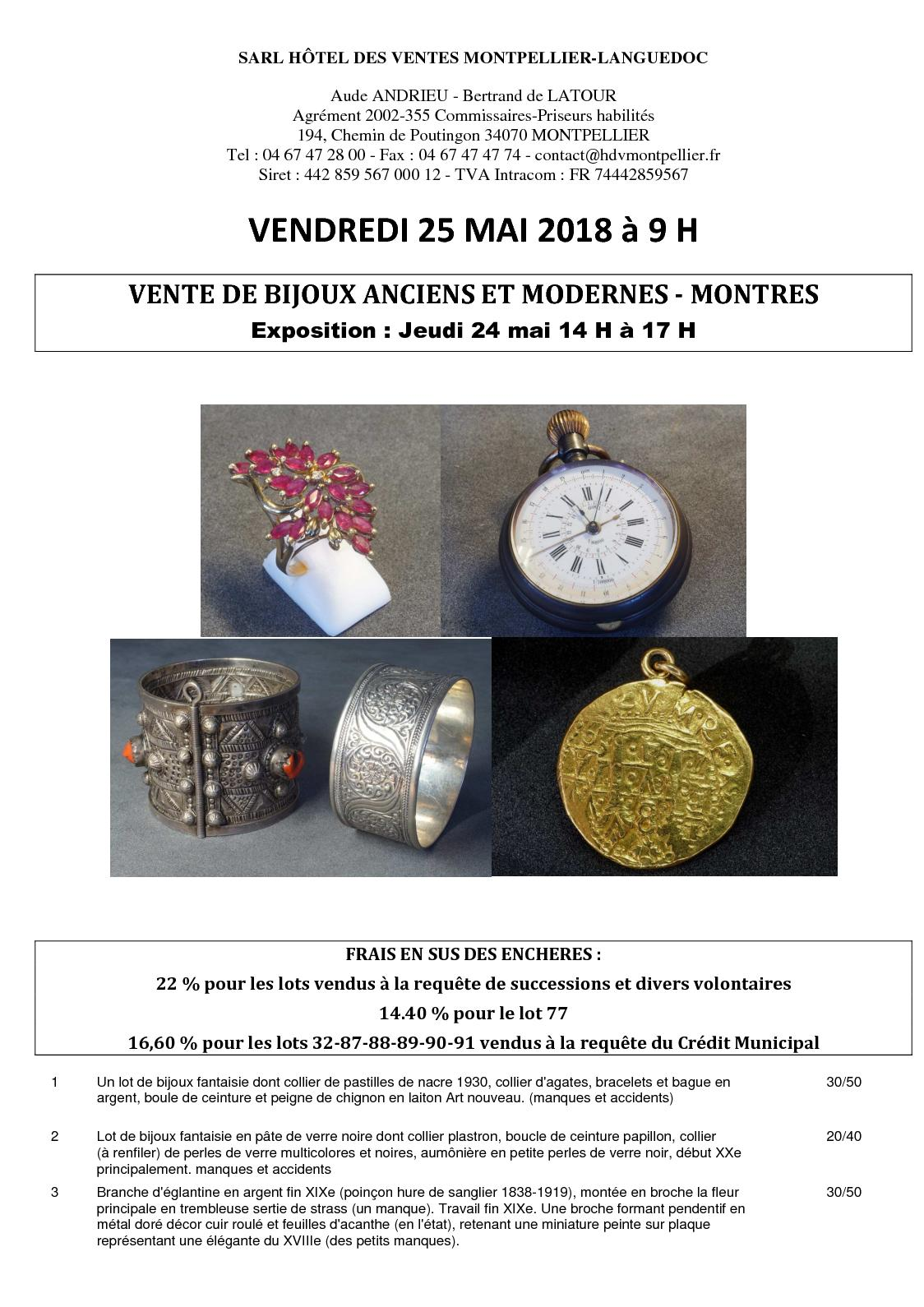 Calaméo - Bijoux anciens et modernes - Vendredi 25 mai 2018 à 09 00 a100b236dab