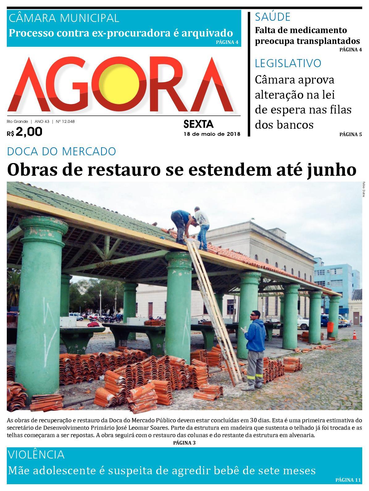 Calaméo - Jornal Agora - Edição 12048 - 18 de Maio de 2018 4c0c2c362b8f8