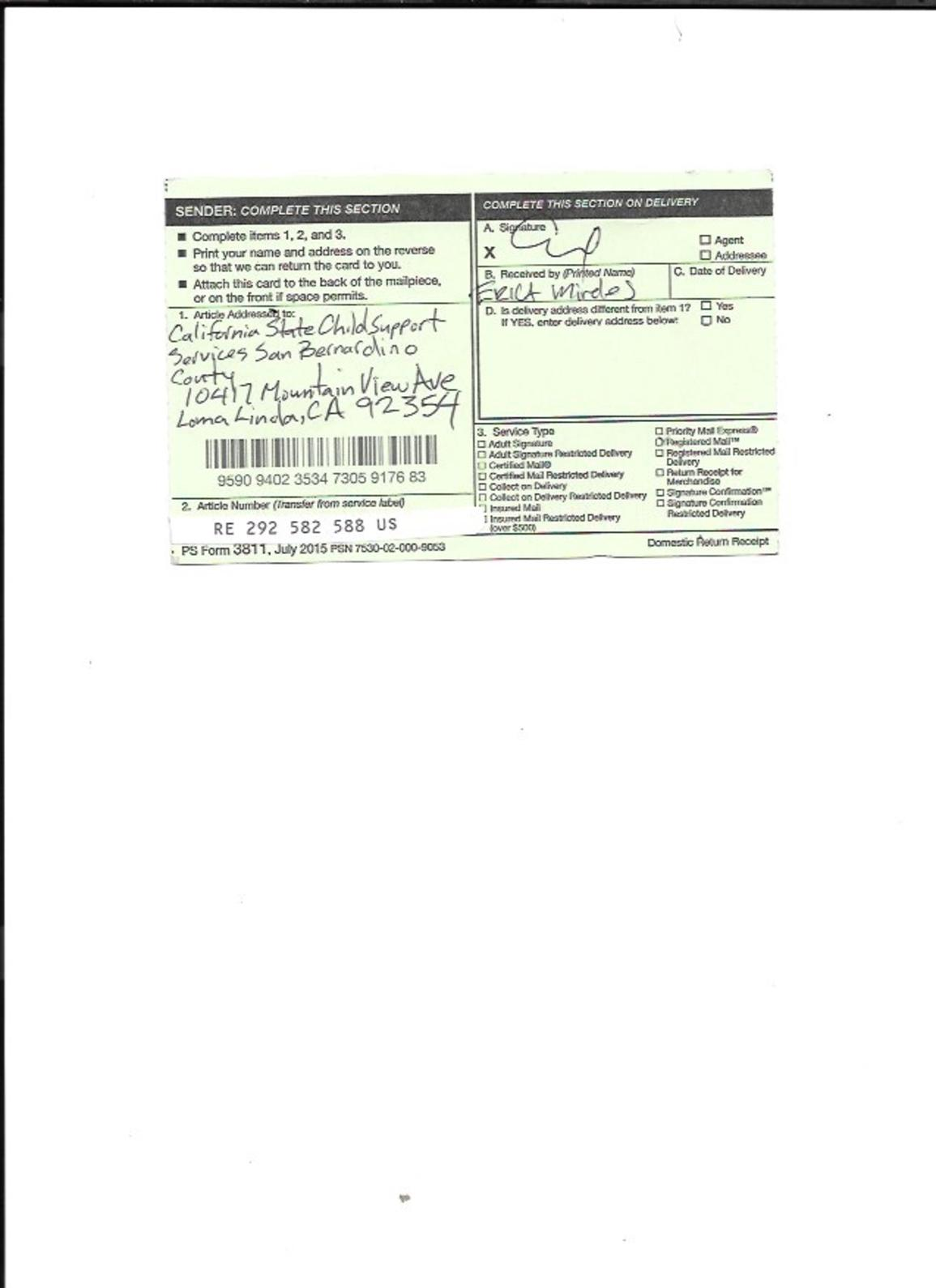 Calaméo - Statutory Claim Registered Mail to California State