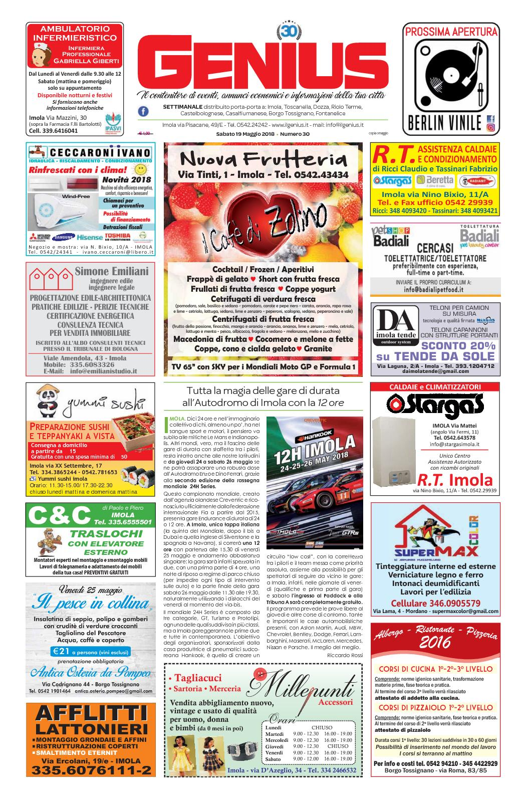 Detrazione Tinteggiatura Interna 2016 calaméo - num 30 del 19 maggio 2018
