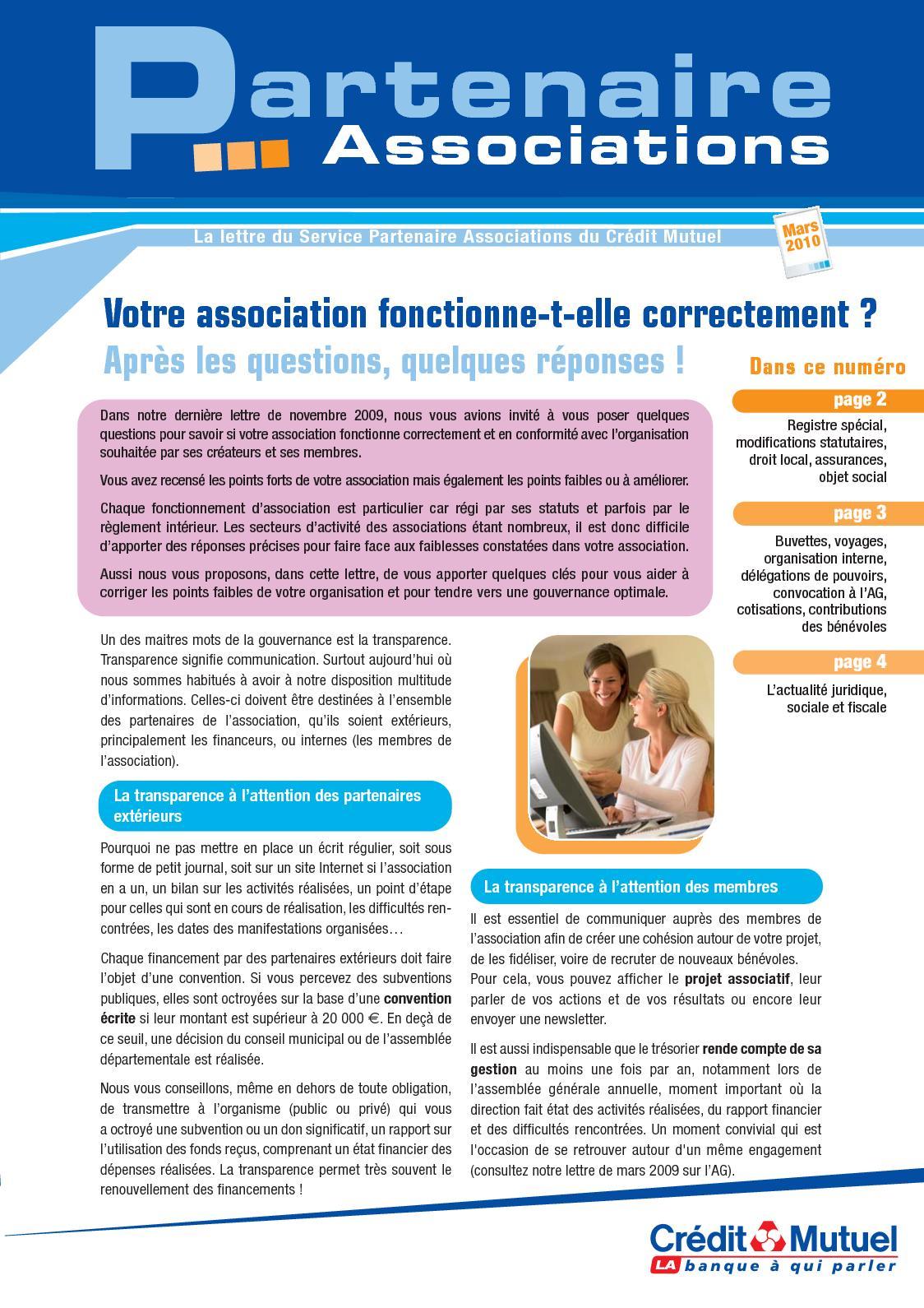 Calameo Votre Association Fonctionne T Elle Correctement Questions