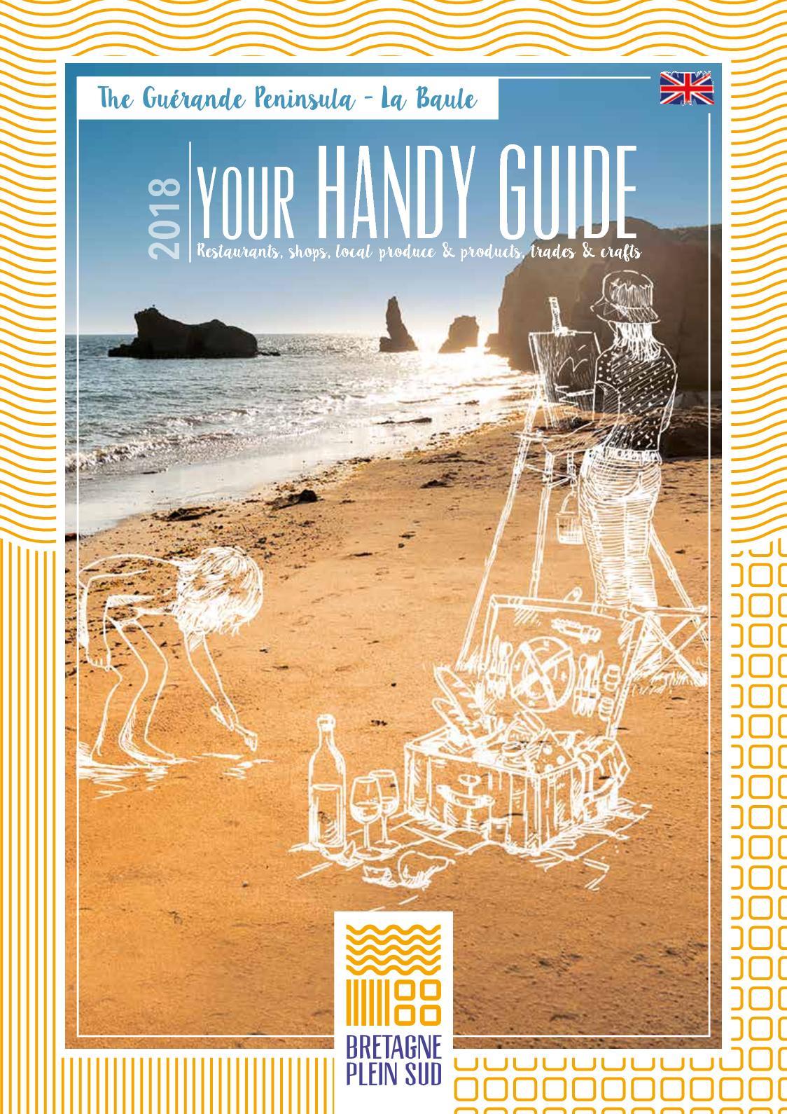 Calaméo - Your Handy Guide 2018 - Bretagne Plein Sud - EN