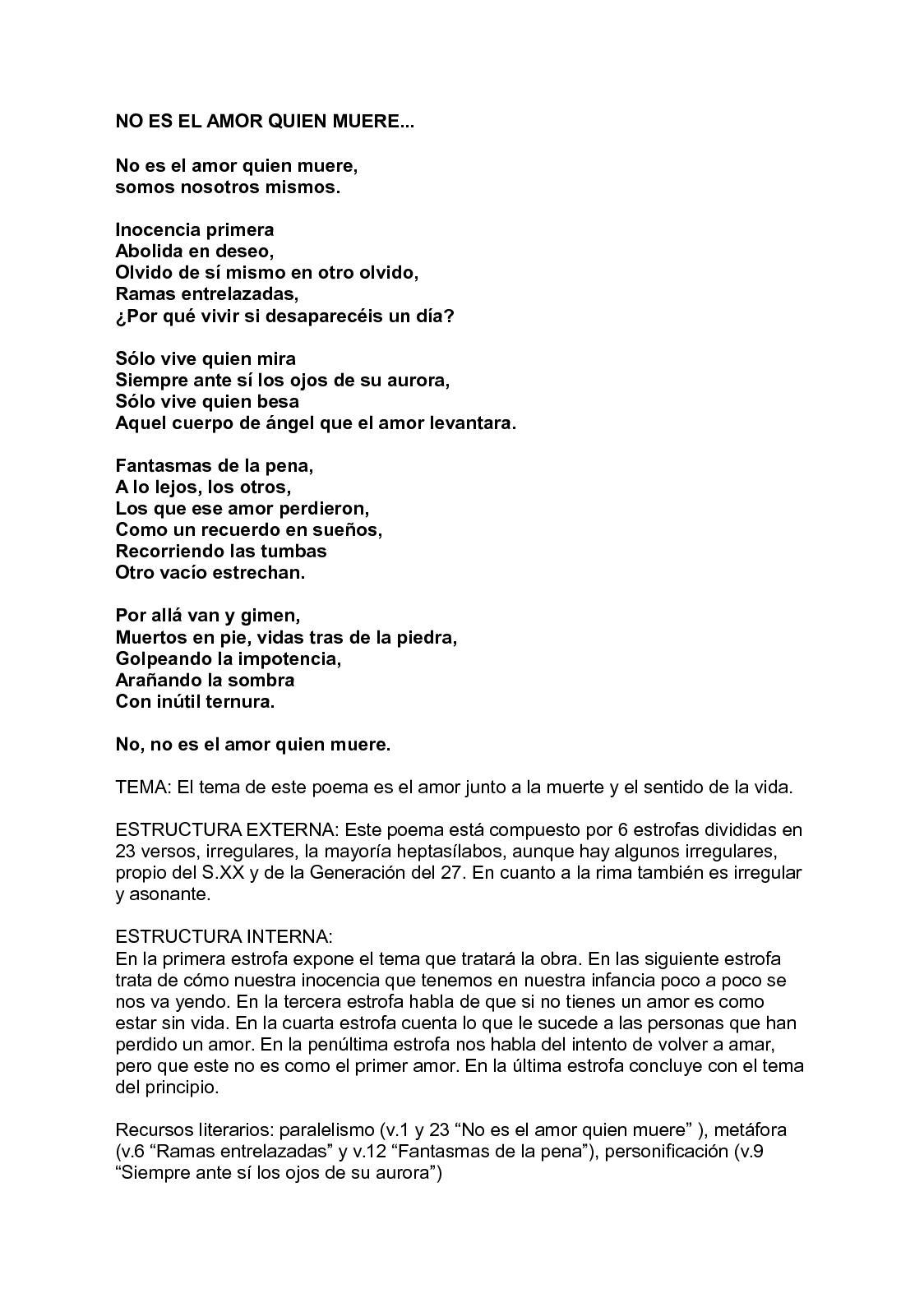 Calaméo Poema Luis Cernuda