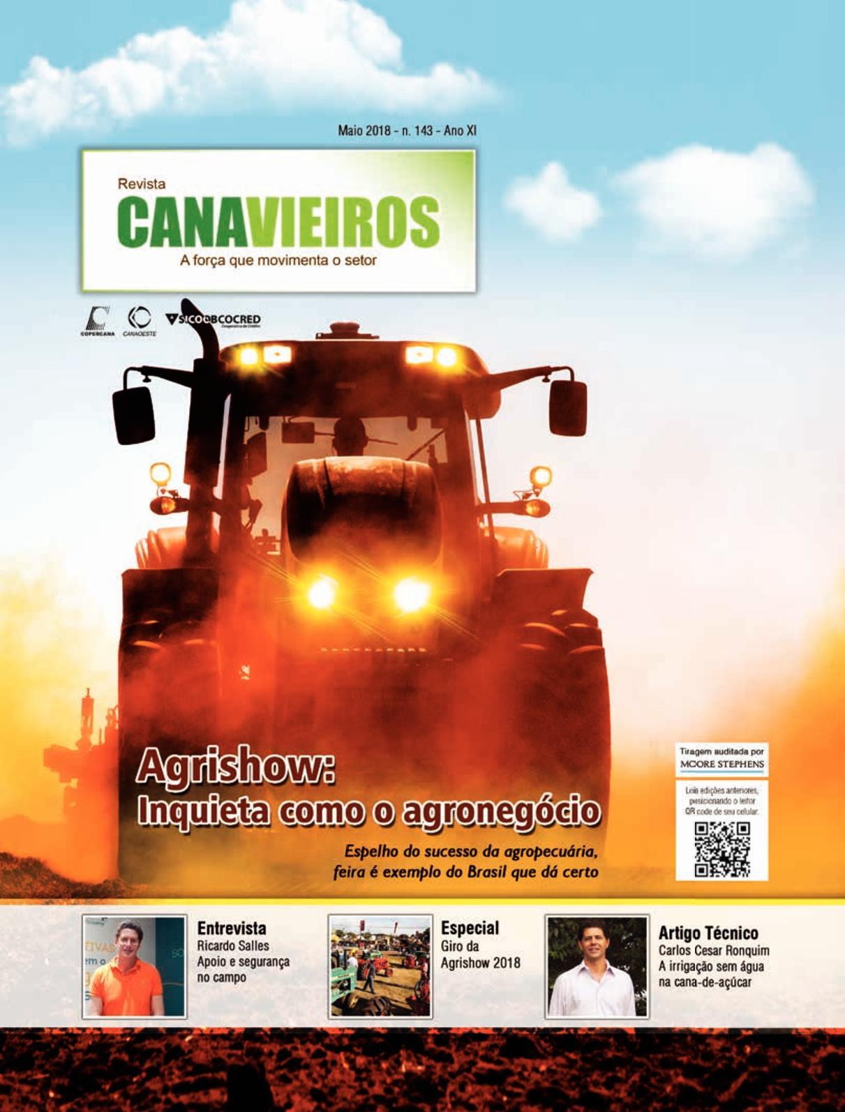 e74ec58389d Calaméo - Edição 143 - Maio 2018 - Agrishow  Inquieta como o agronegócio