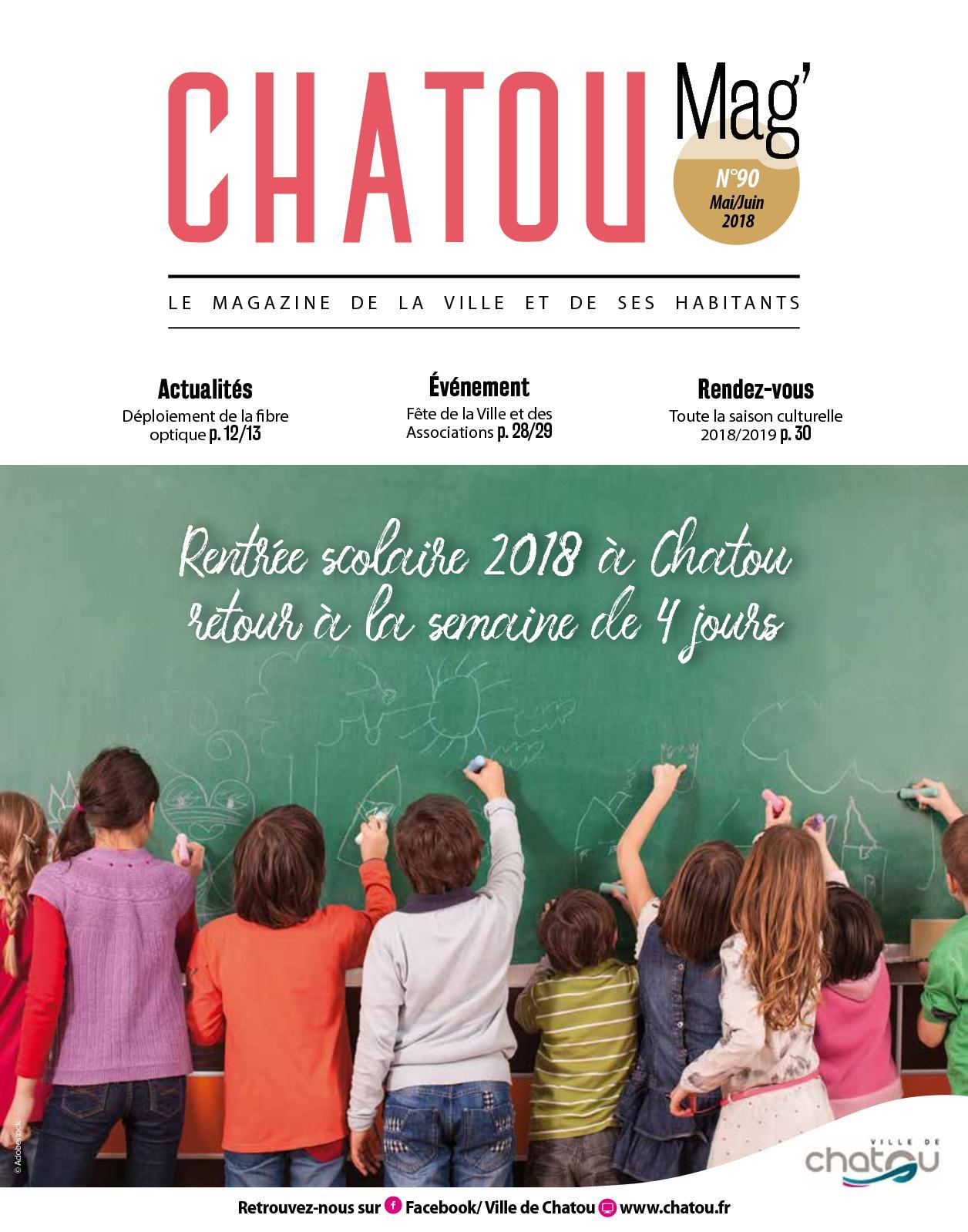 Mag' N°90 Chatou 2018 Calaméo Maijuin EIDbWH29eY