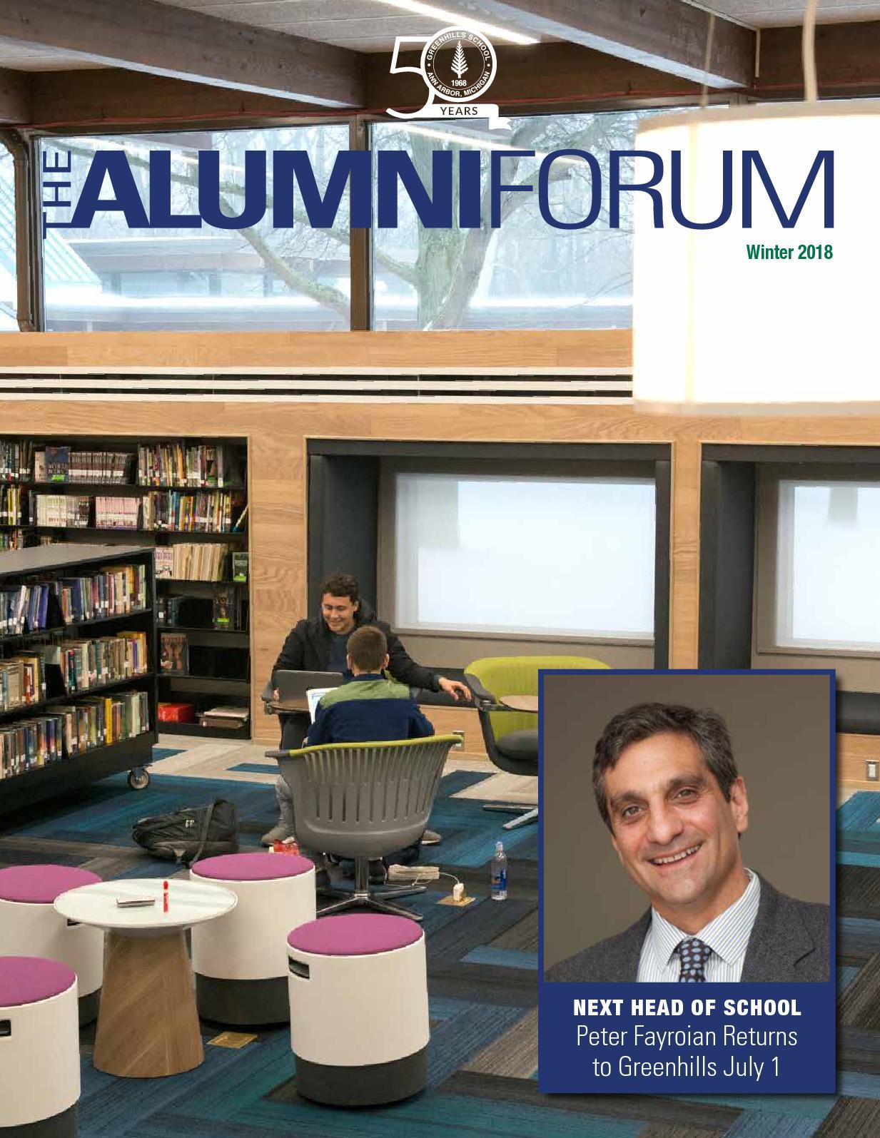 Calaméo - Alumni Forum Winter 2018