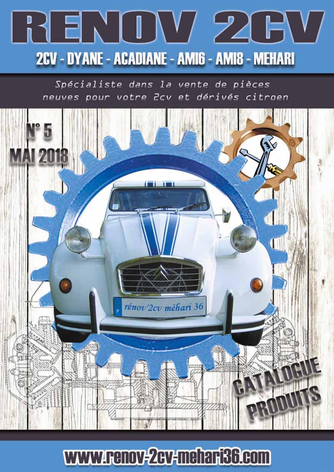 1264 ECROU NEUF pour pignon de direction de Citroen 2CV DYANE MEHARI AMI