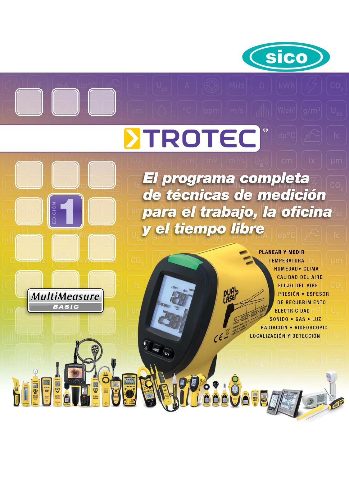 TROTEC Datalogger BL30 para el control clim/ático