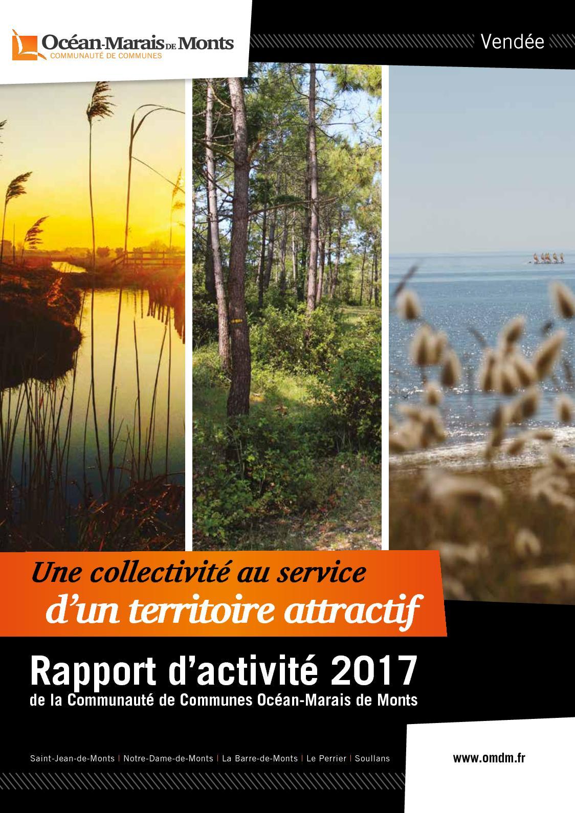 4ffb5000ff00 Calaméo - Rapport d activité 2017 - Communauté de Communes Océan-Marais de  Monts