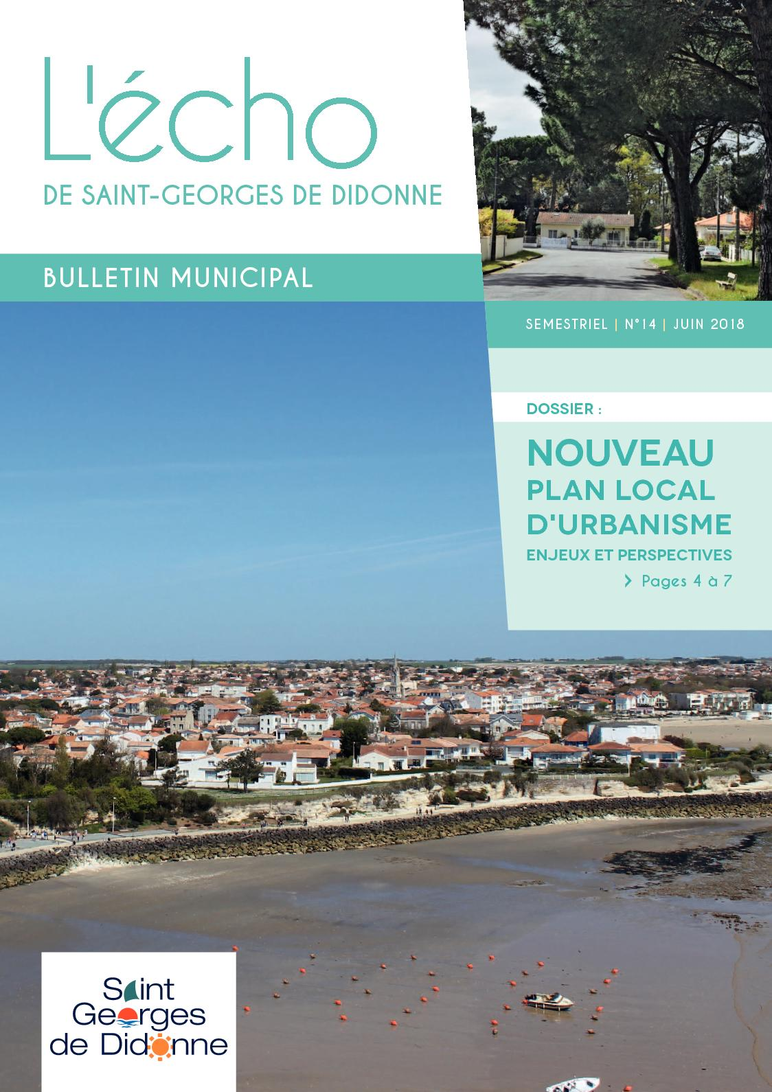 Anima Conseil Saint Georges De Didonne calaméo - l'écho de juin 2018