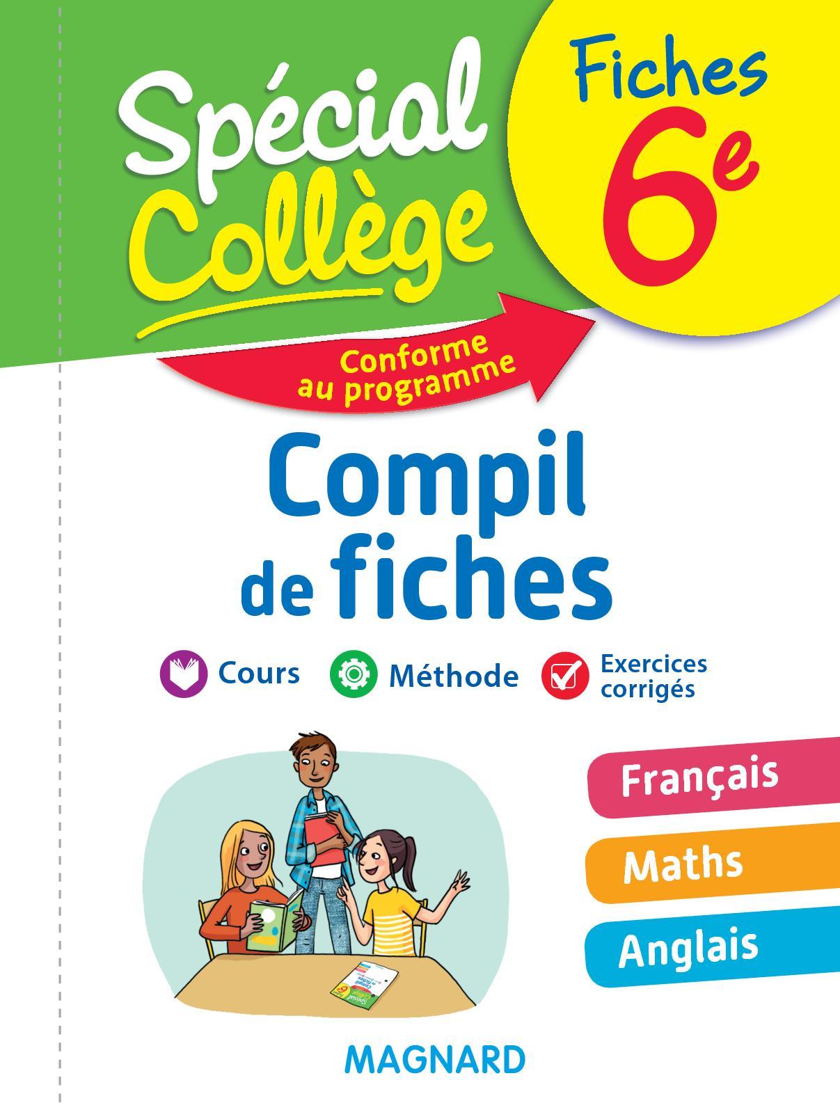 Calameo Extrait Special College Compil De Fiches 6e