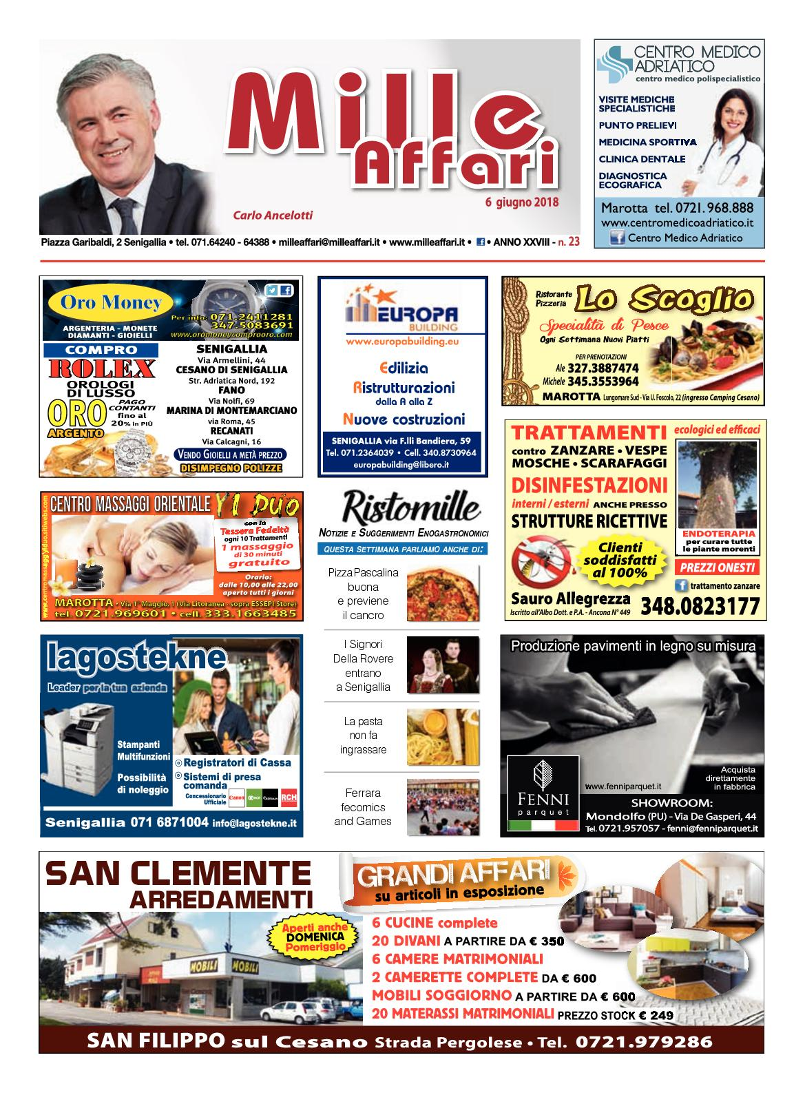 Calaméo Milleaffari N 23 Del 060618