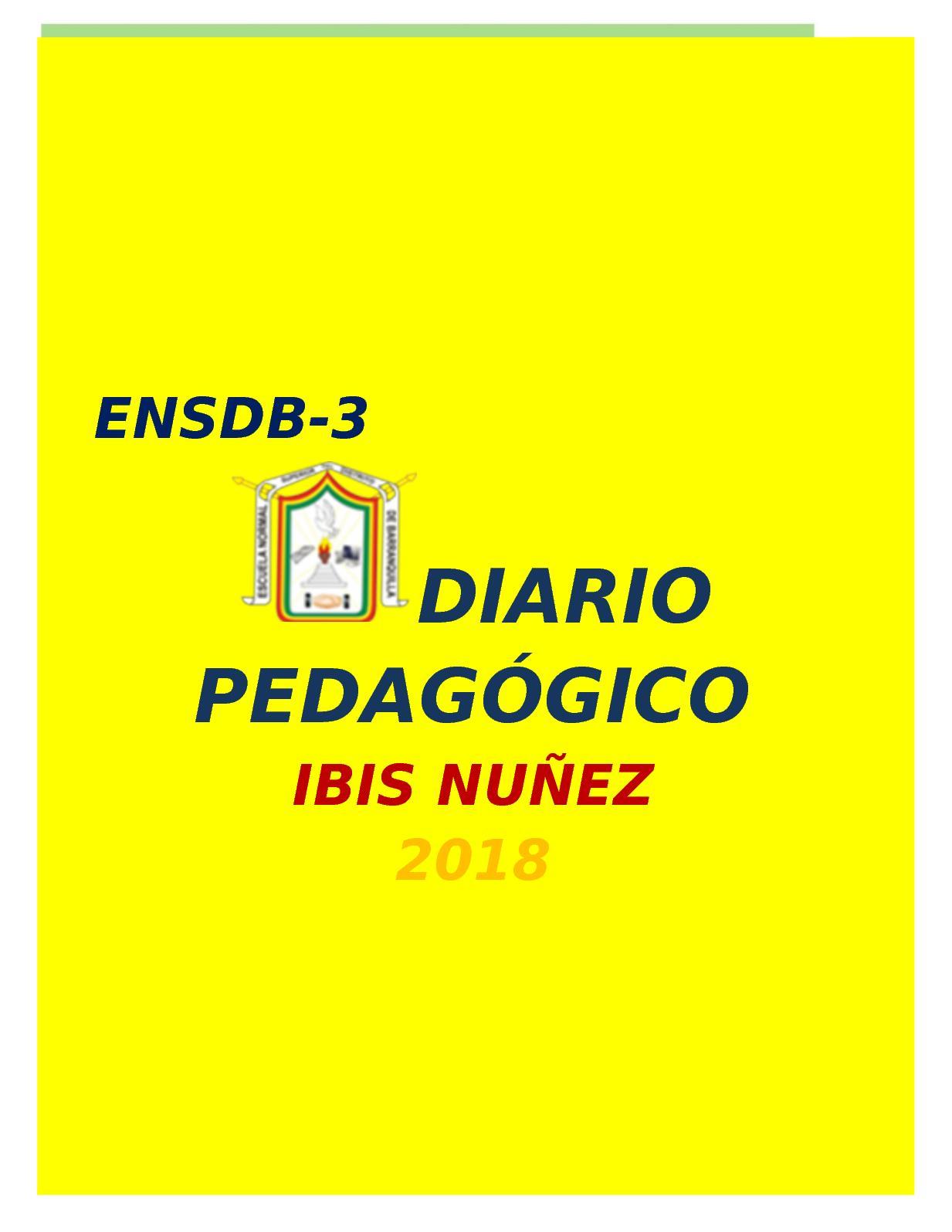 Diario Pedagógico 2018 (2)