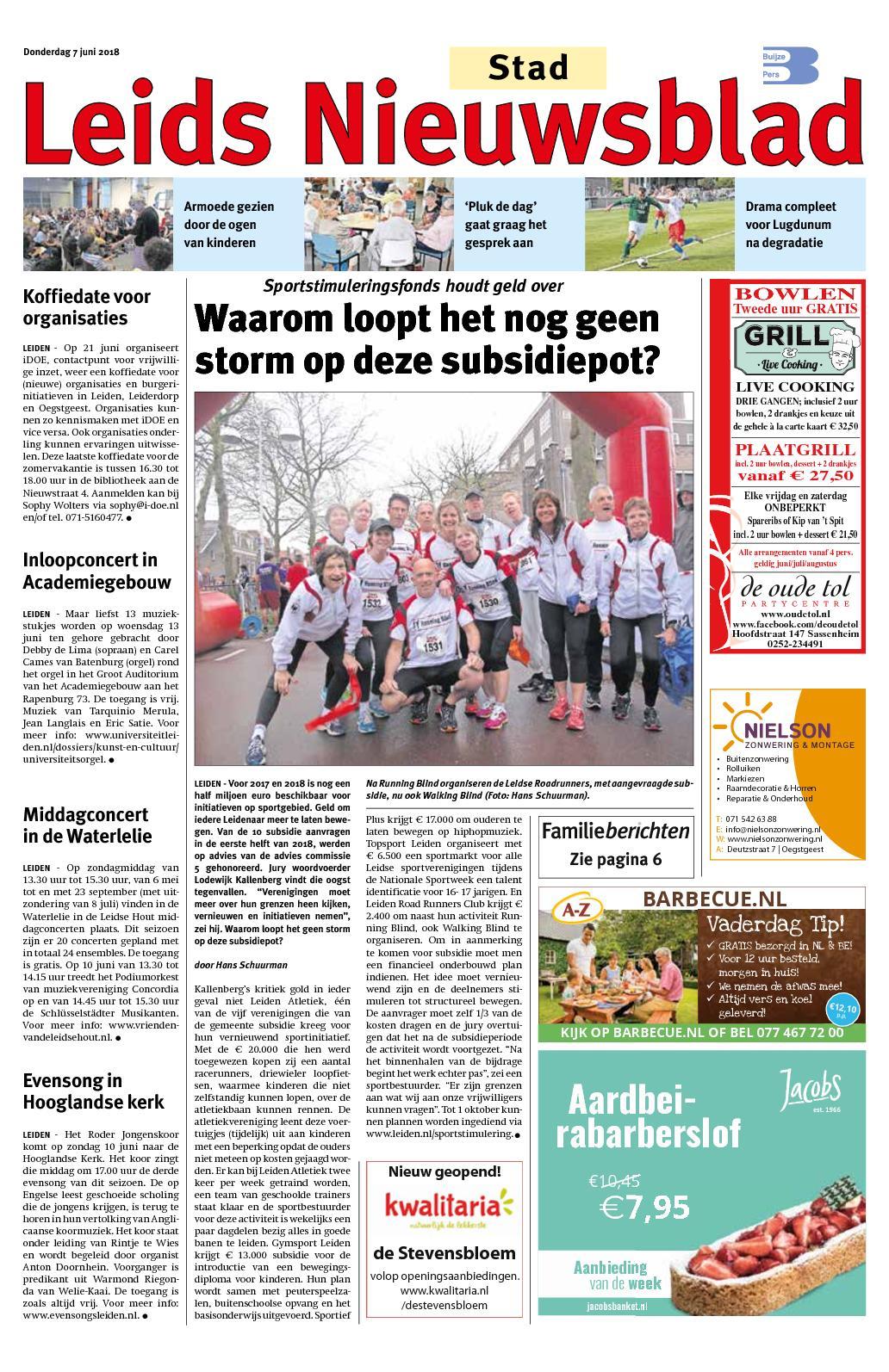d53c1785916 Calaméo - Leids Nieuwsblad Stad 07-06-2018