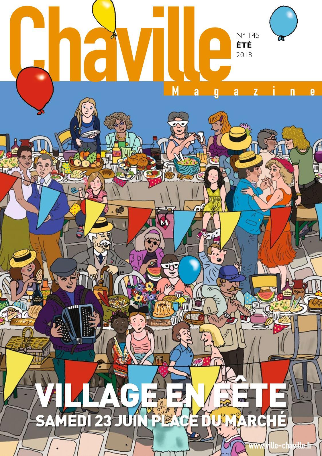 Les Sens Du Bien Etre Chaville calaméo - chaville magazine 145