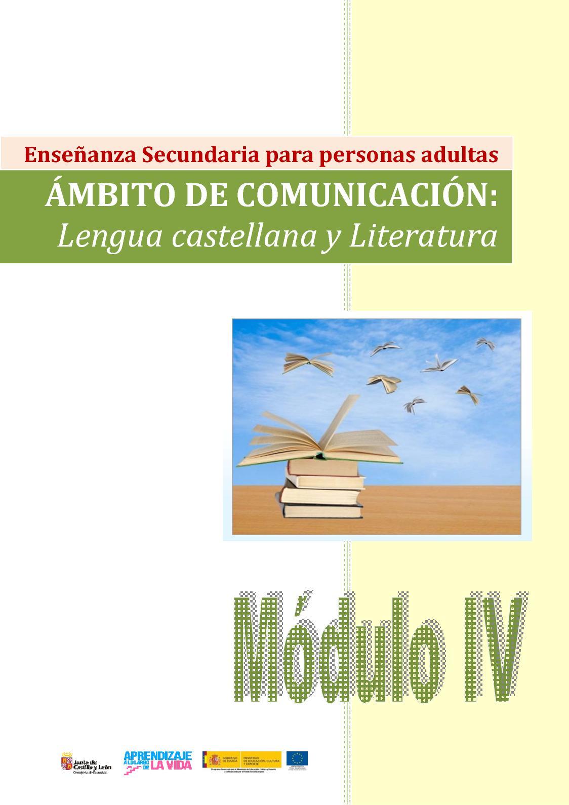 Calaméo - Módulo IV Lengua Castellana Y Literatura 88418feb372