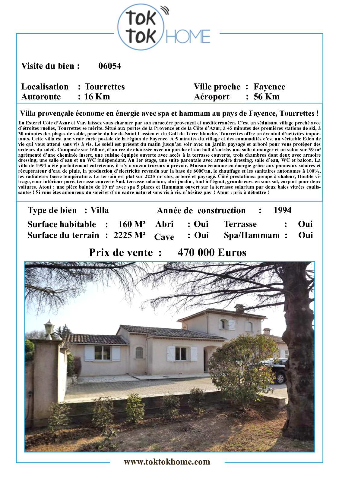 Calaméo 06054 Villa Provençale économe En énergie Avec Spa