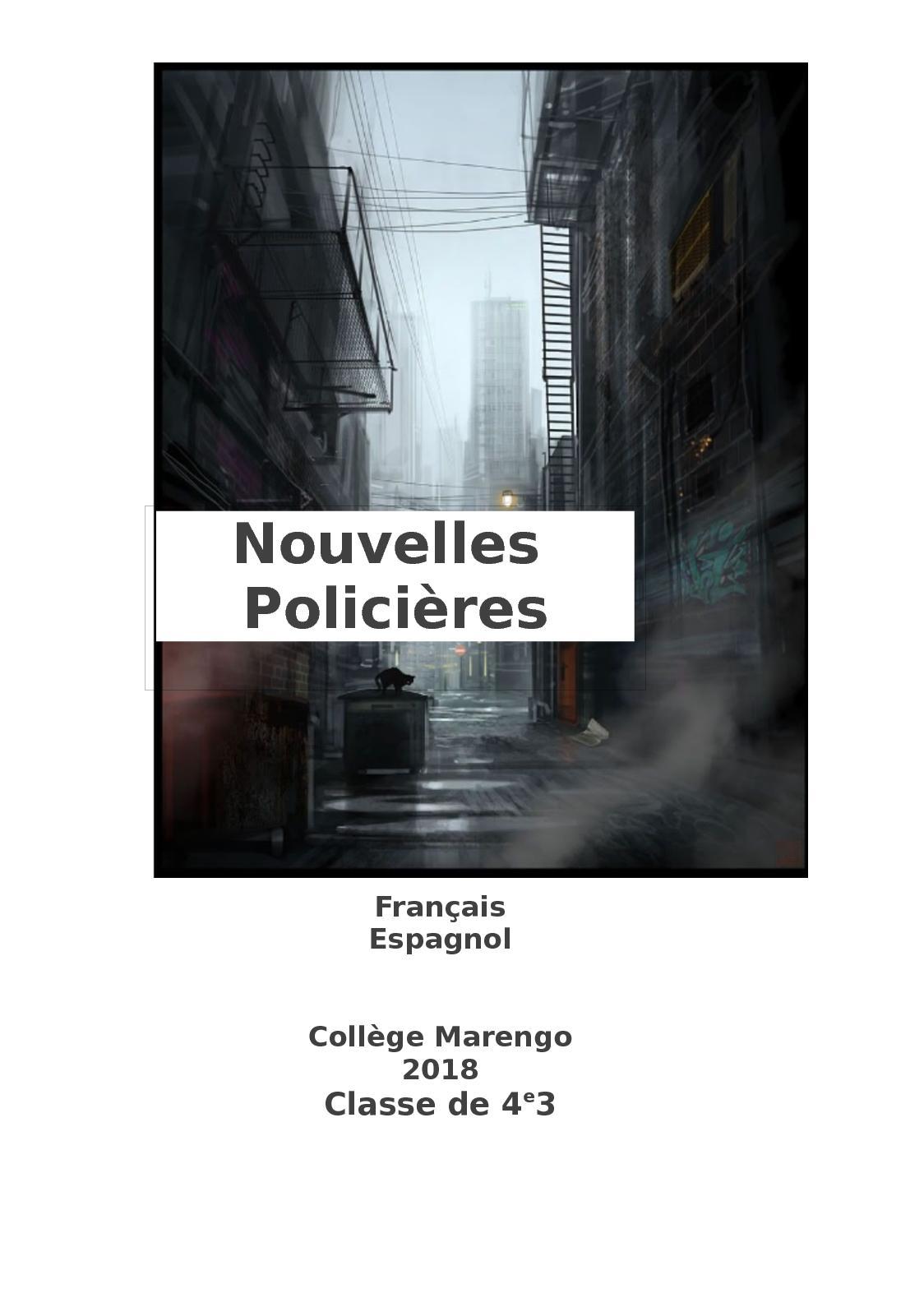 Calaméo - Nouvelles Policières Français Espagnol cf80edb02a36