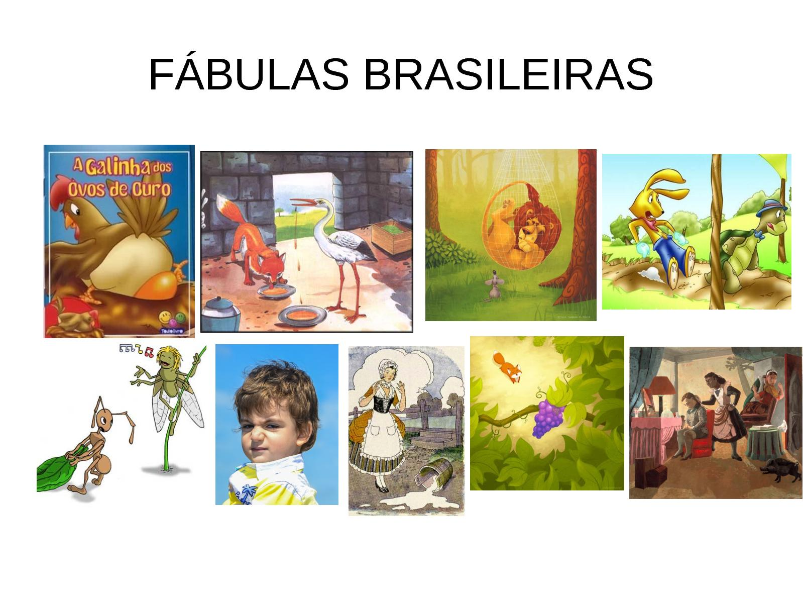 A Galinha Dos Ovo De Ouro Para Colorir calaméo - fábulas brasileiras