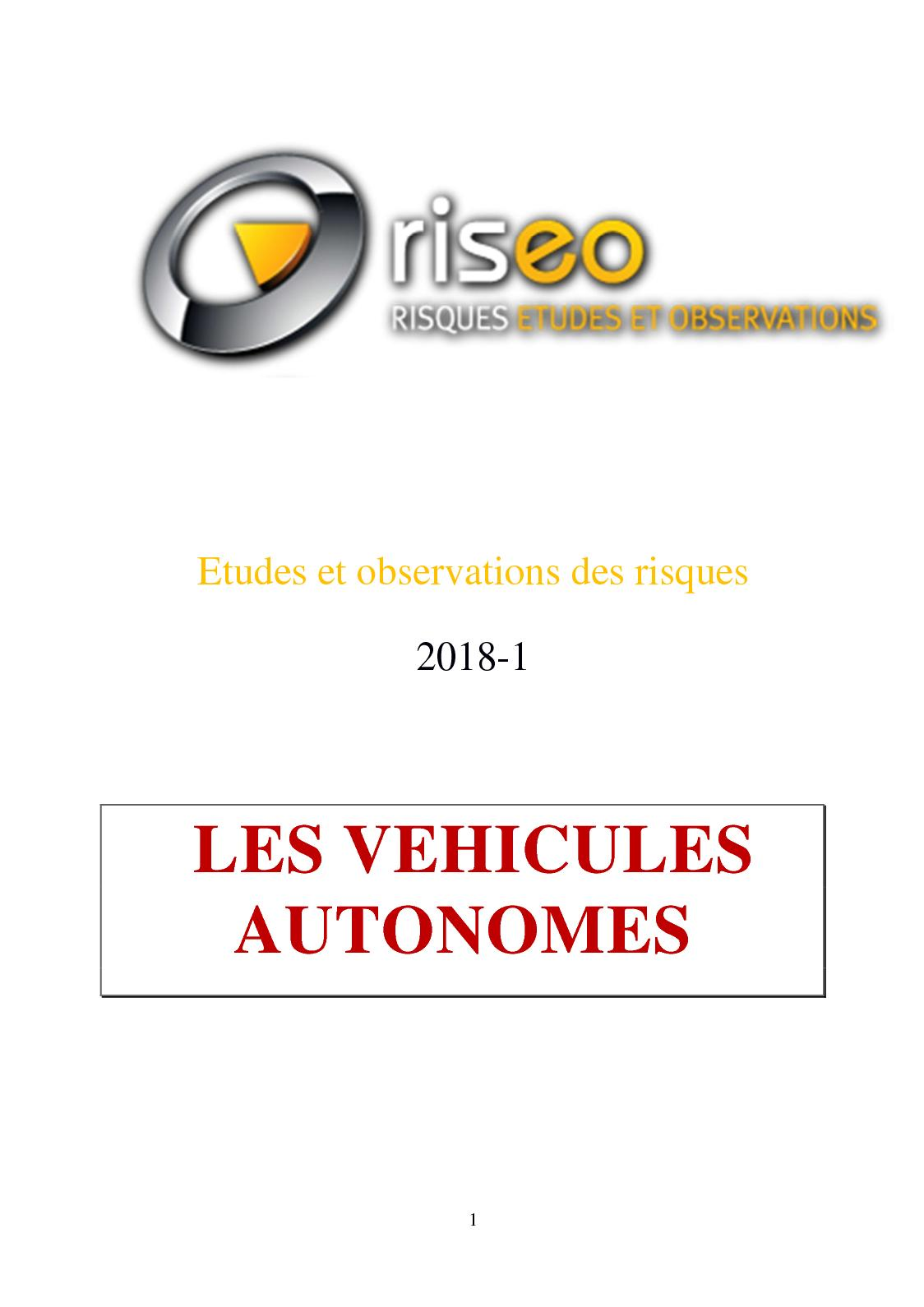 Calaméo - Riseo 2018 1 Les véhicules autonomes b632a01b89a