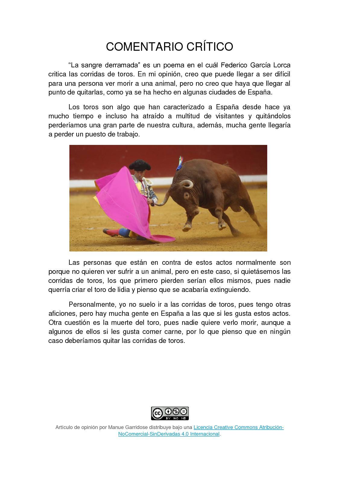 Calaméo Sangre Derramada Opinión Manuel