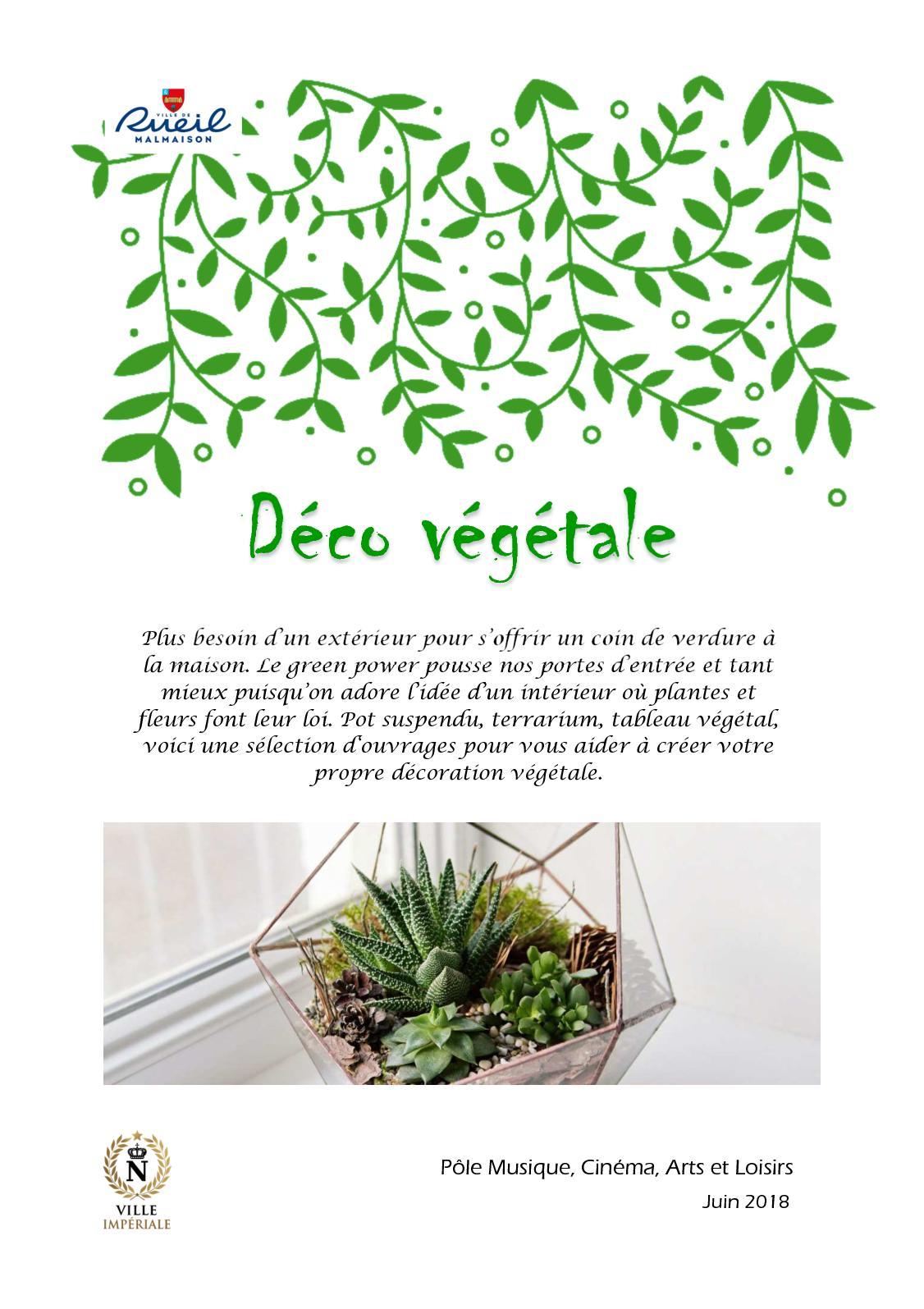 Plantes Pour Tableau Végétal Intérieur calaméo - deco végétale