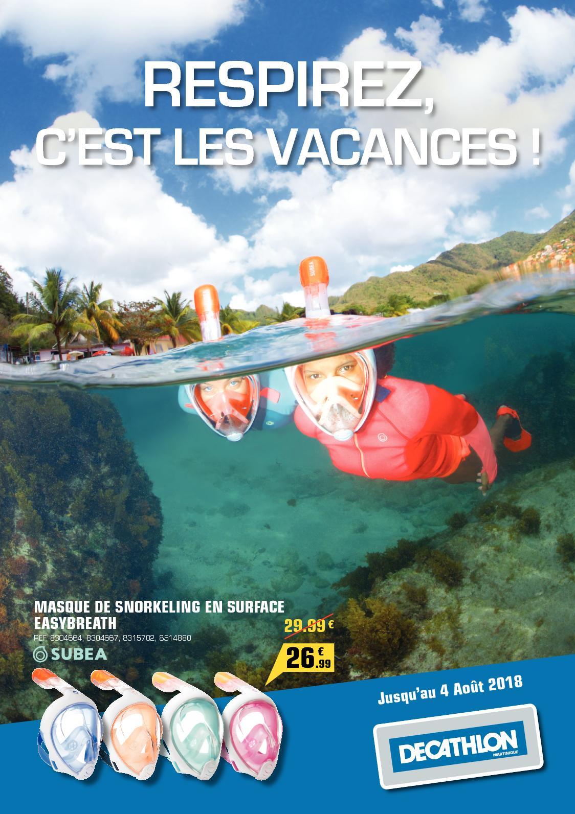 Calaméo Decathlon Respirez Cest Les Vacances