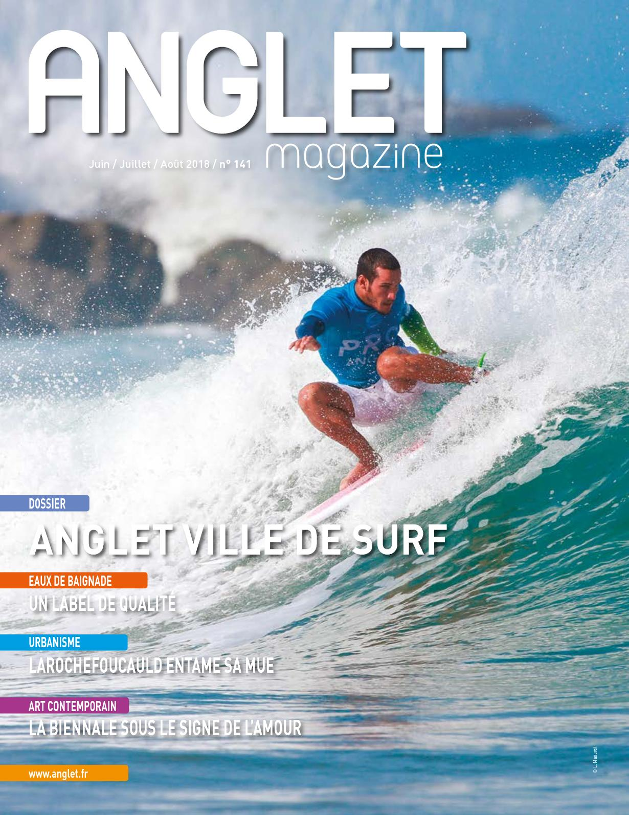 f03cf513bfff8 Calaméo - Anglet Magazine 141 - été 2018